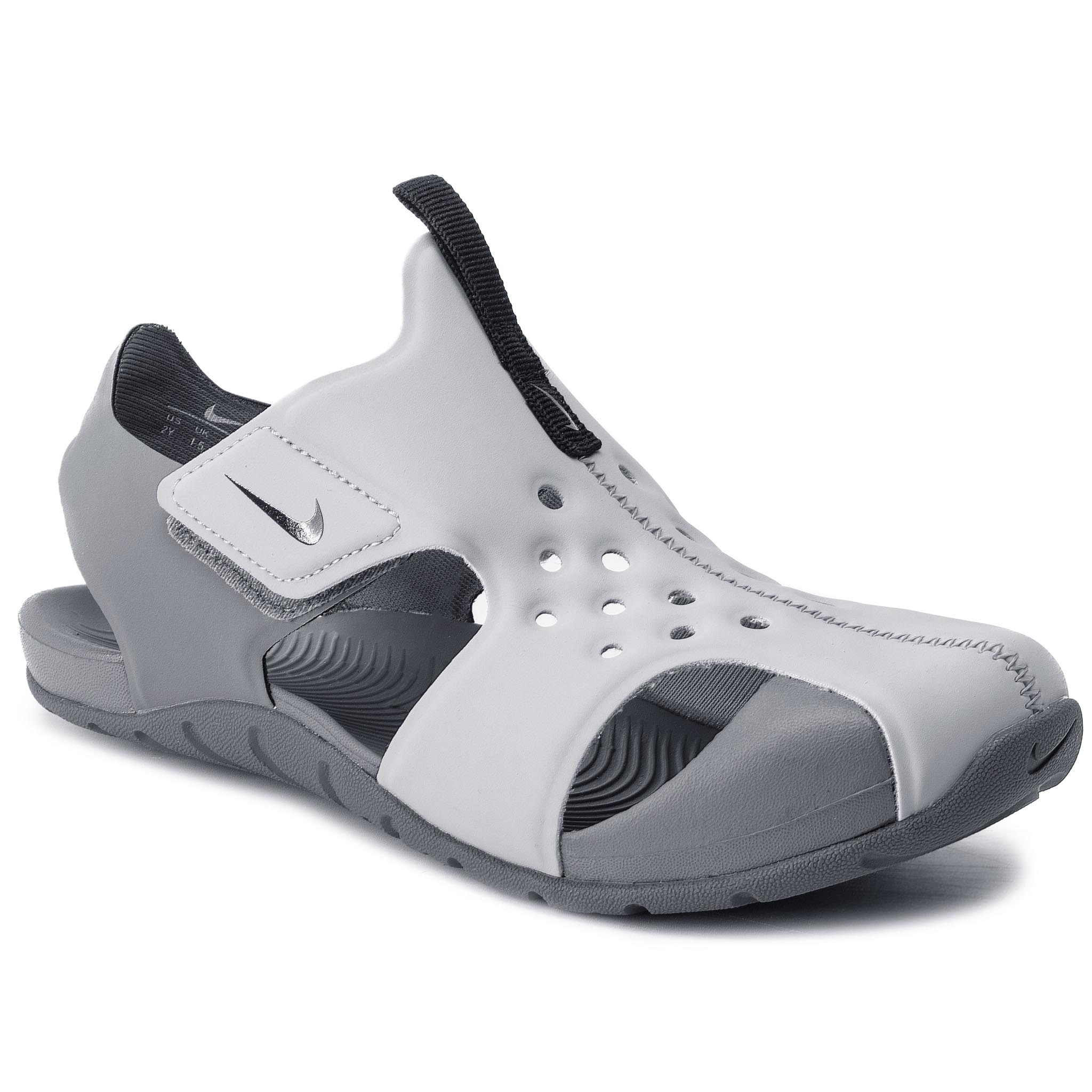 Sandale NIKE - Sunray Protect 2 (PS) 943826 004 Wolf Grey/Black