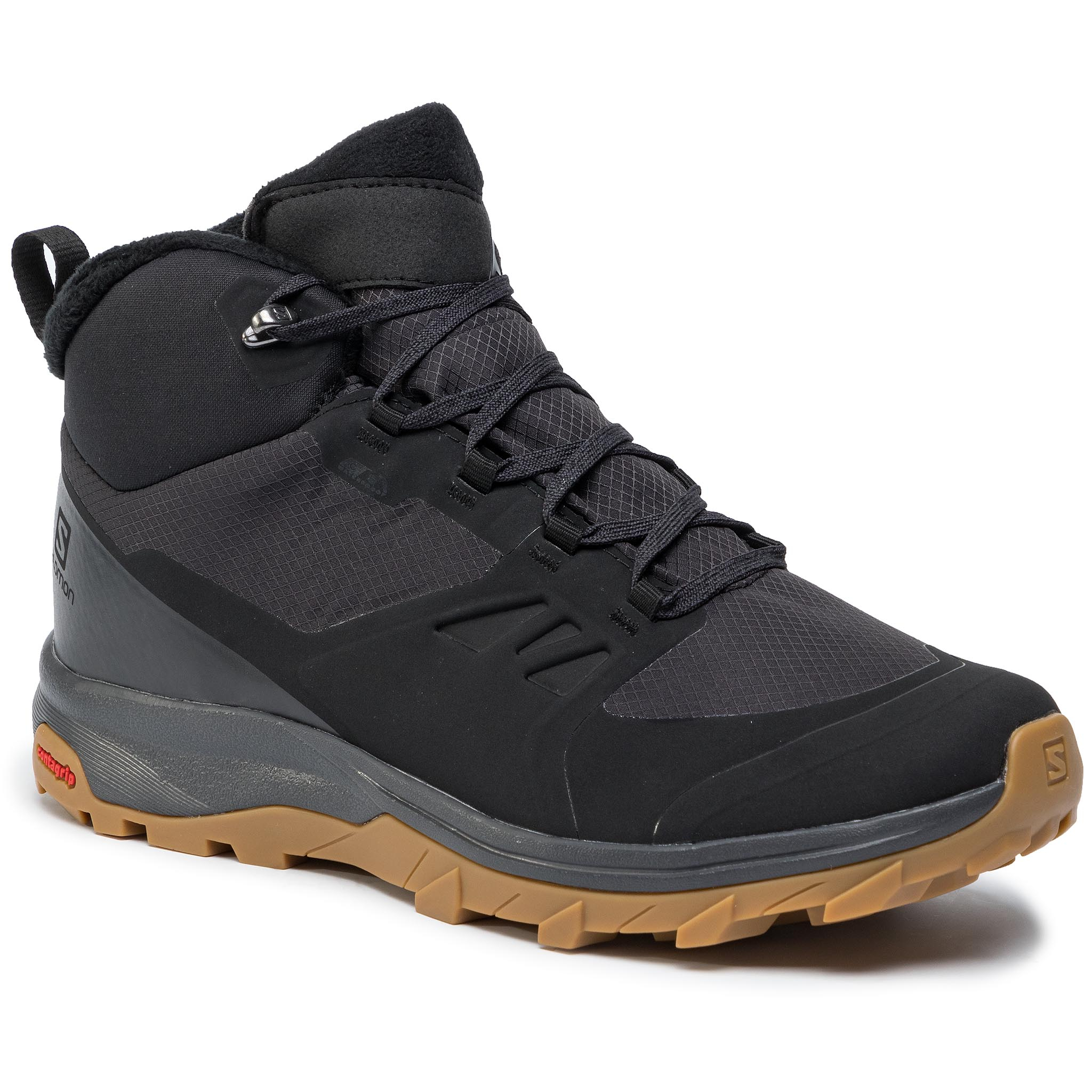 Trekkings Salomon - Outsnap Cswp 409220 28 V0 Black/Ebony/Gum1a imagine epantofi.ro 2021