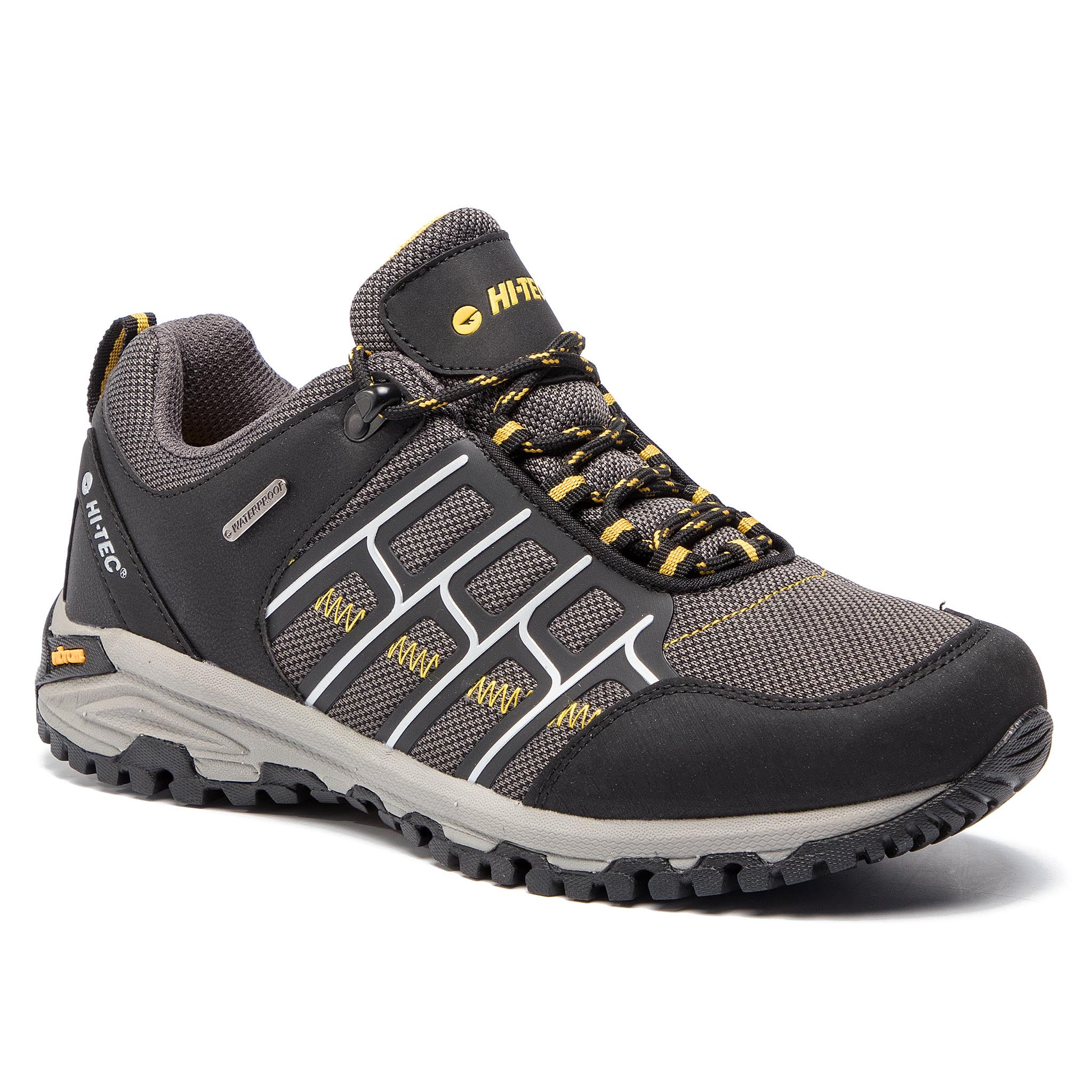 Trekkings Hi-Tec - Mercen Wp Avs-Ss19-Ht-01-Q2 Black/Dark Grey/Corn imagine epantofi.ro 2021