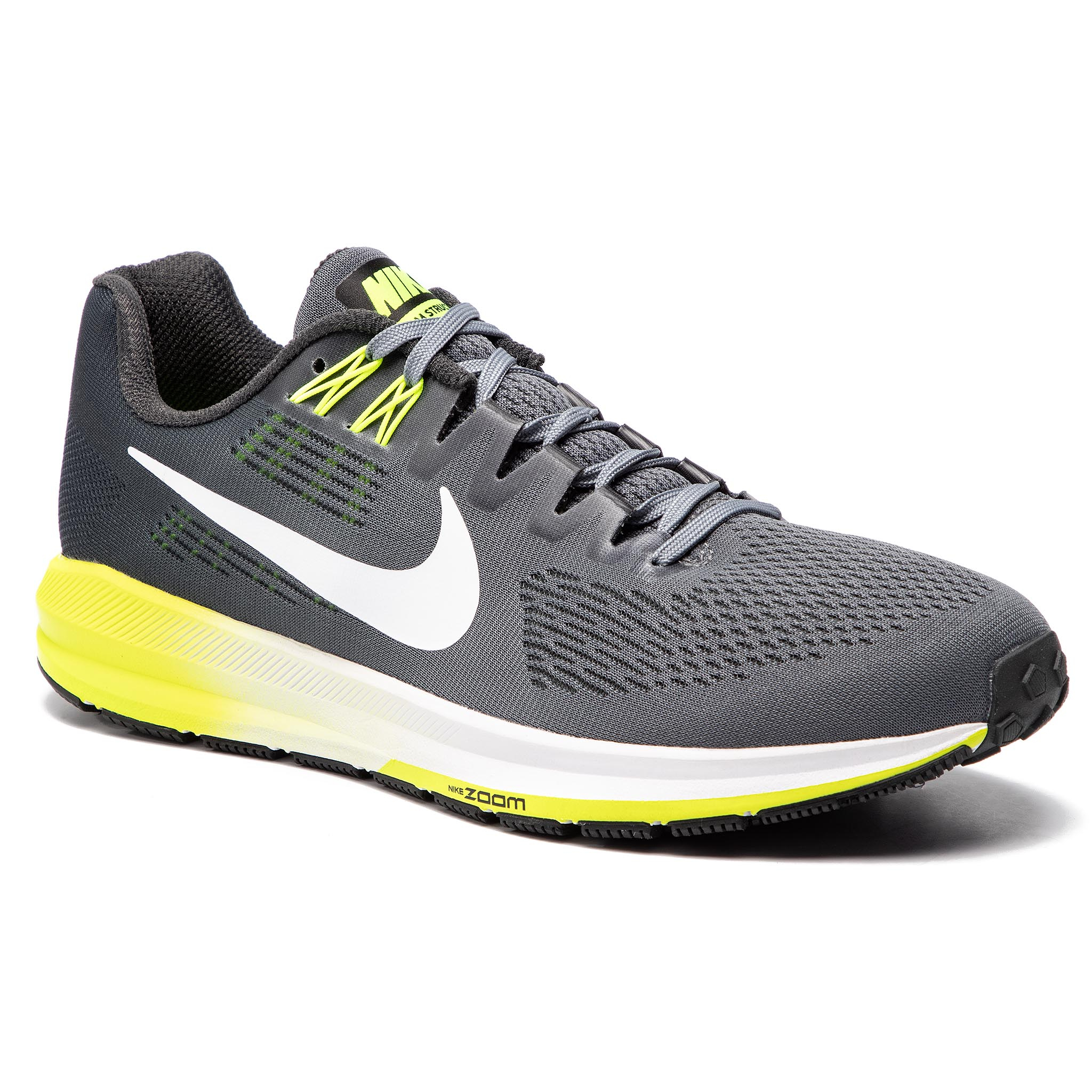 Pantofi NIKE - Air Zoom Structure 21 904695 007 Cool Grey/ White/Anthracite