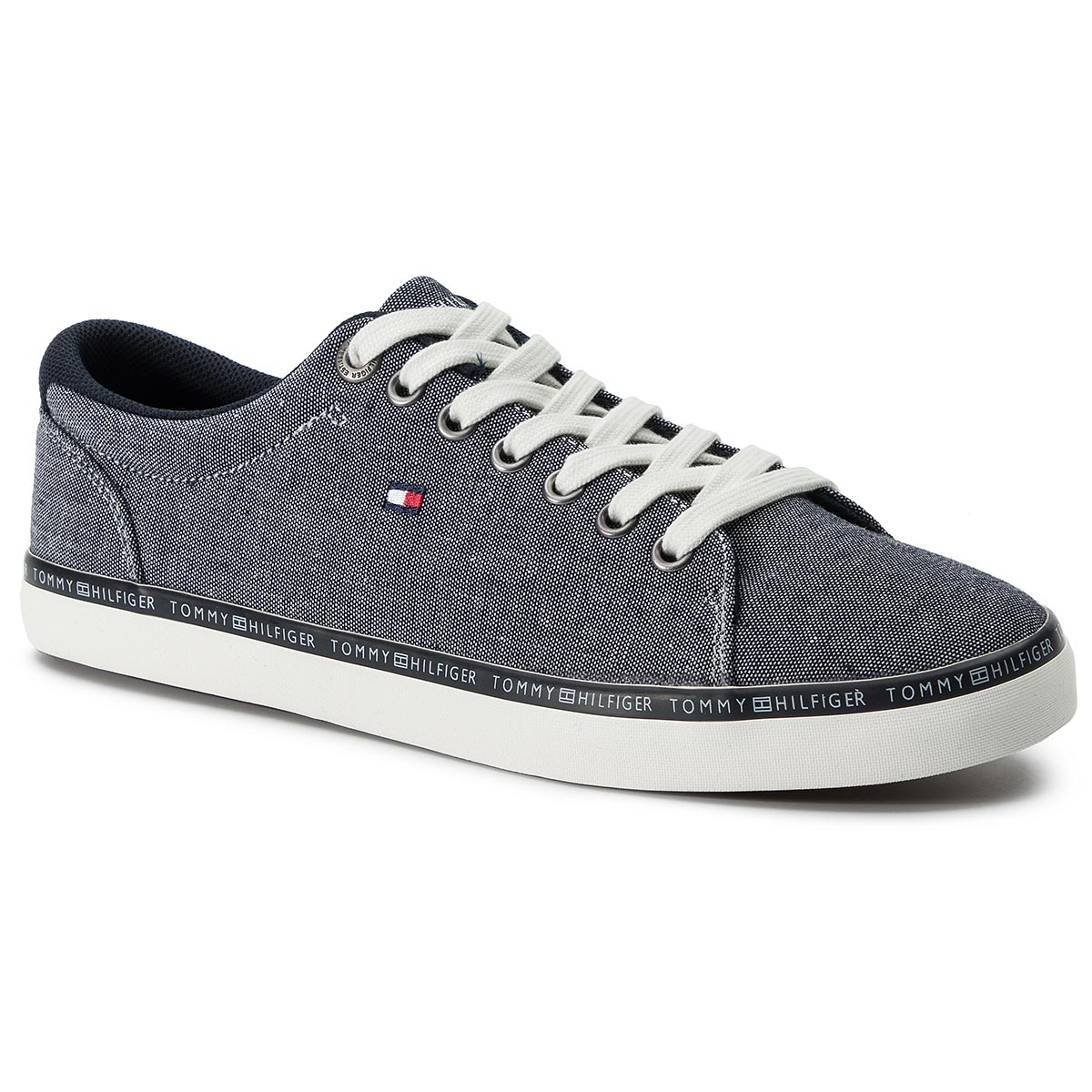 Teniși TOMMY HILFIGER - Essential Craft Vulc FM0FM02284 Midnight 403