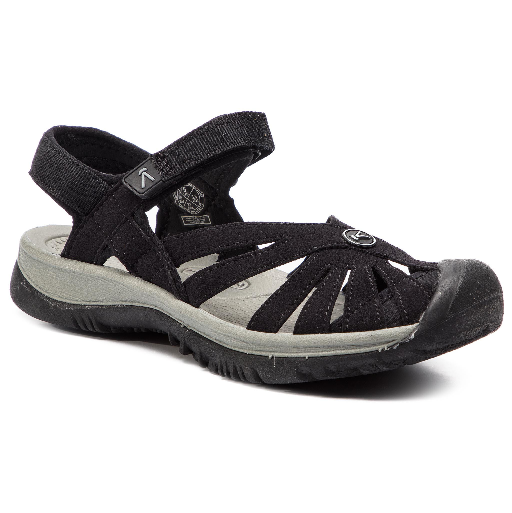 Sandale KEEN - Rose Sandal 1008783 Black/Neutral Grey