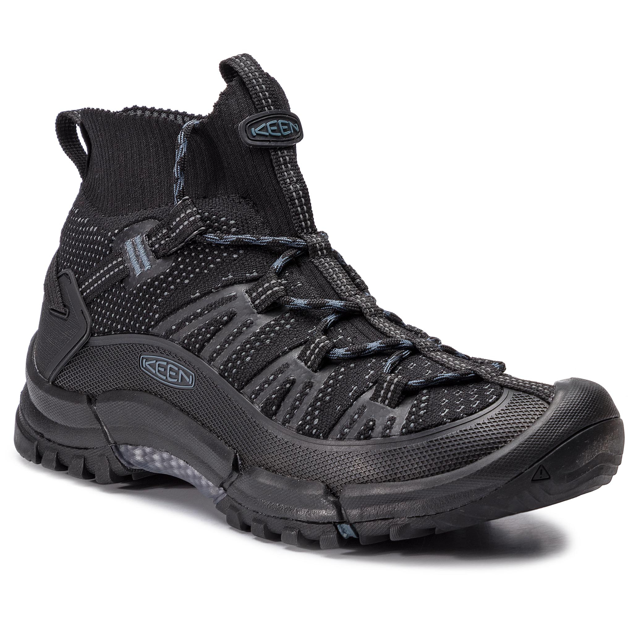Trekkings Keen - Axis Evo Mid 1021178 Black/Slate imagine epantofi.ro 2021
