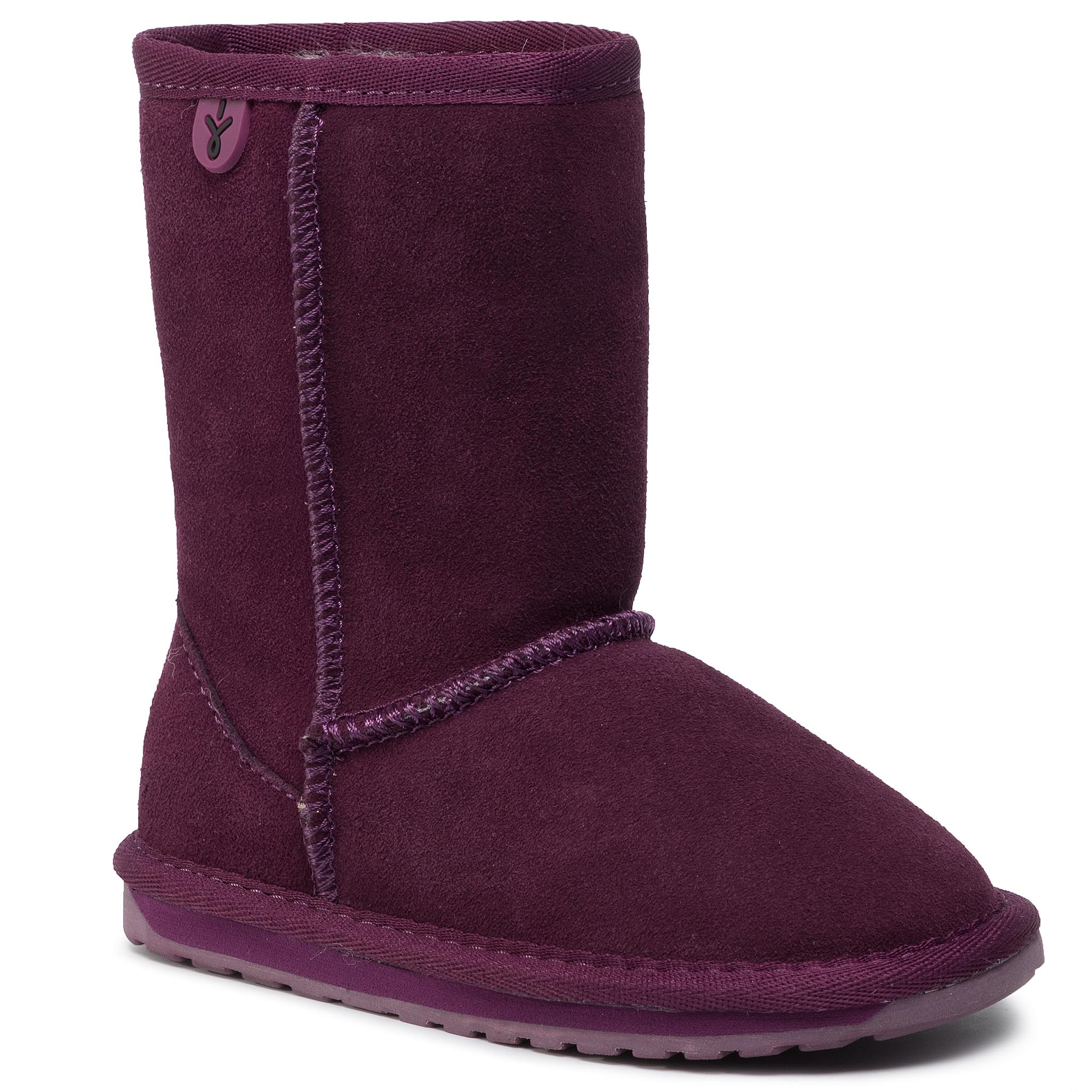 Pantofi Emu Australia - Wallaby Lo K10102 Plum imagine epantofi.ro 2021