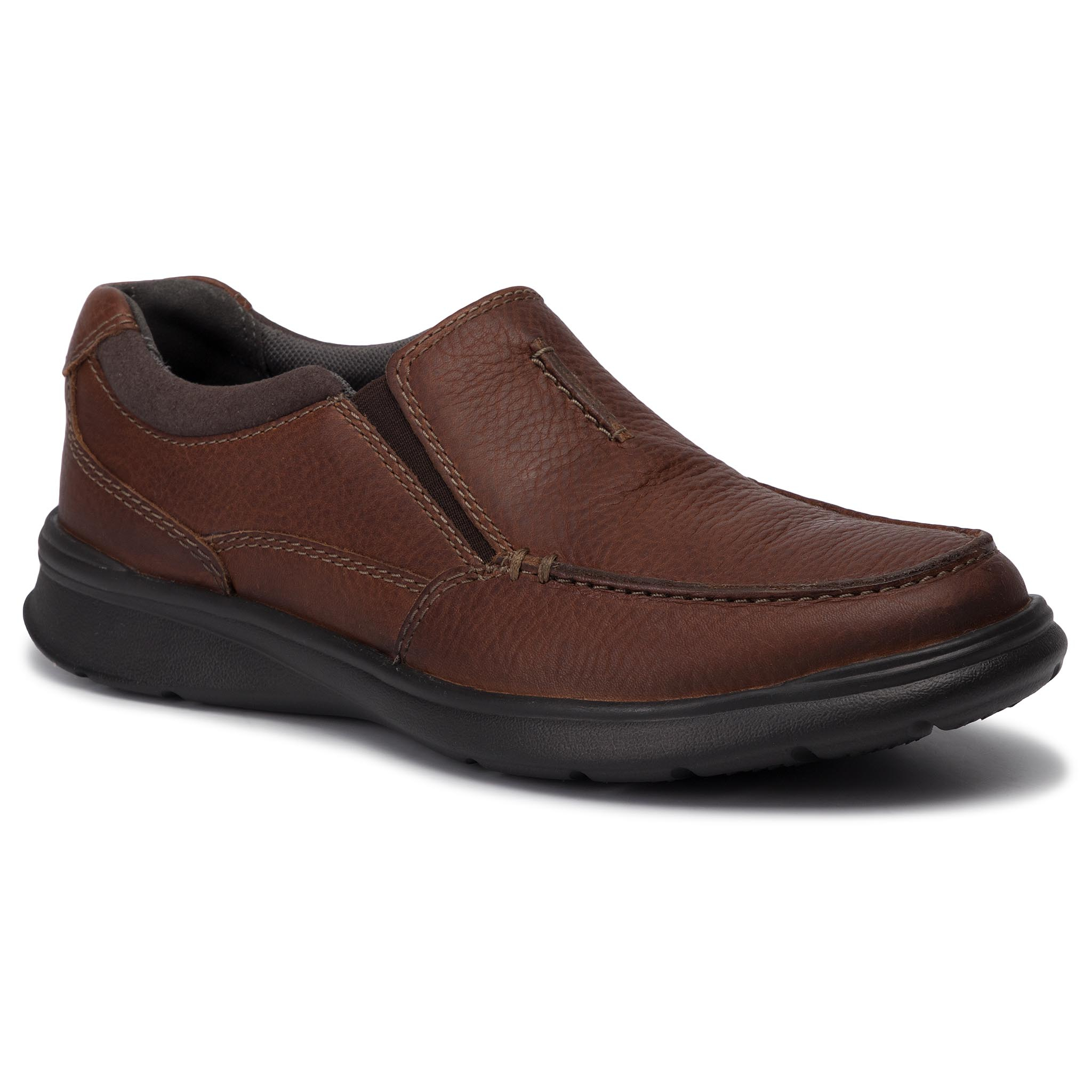 Pantofi CLARKS - Cotrell Free 261315667 Tobacco Leather