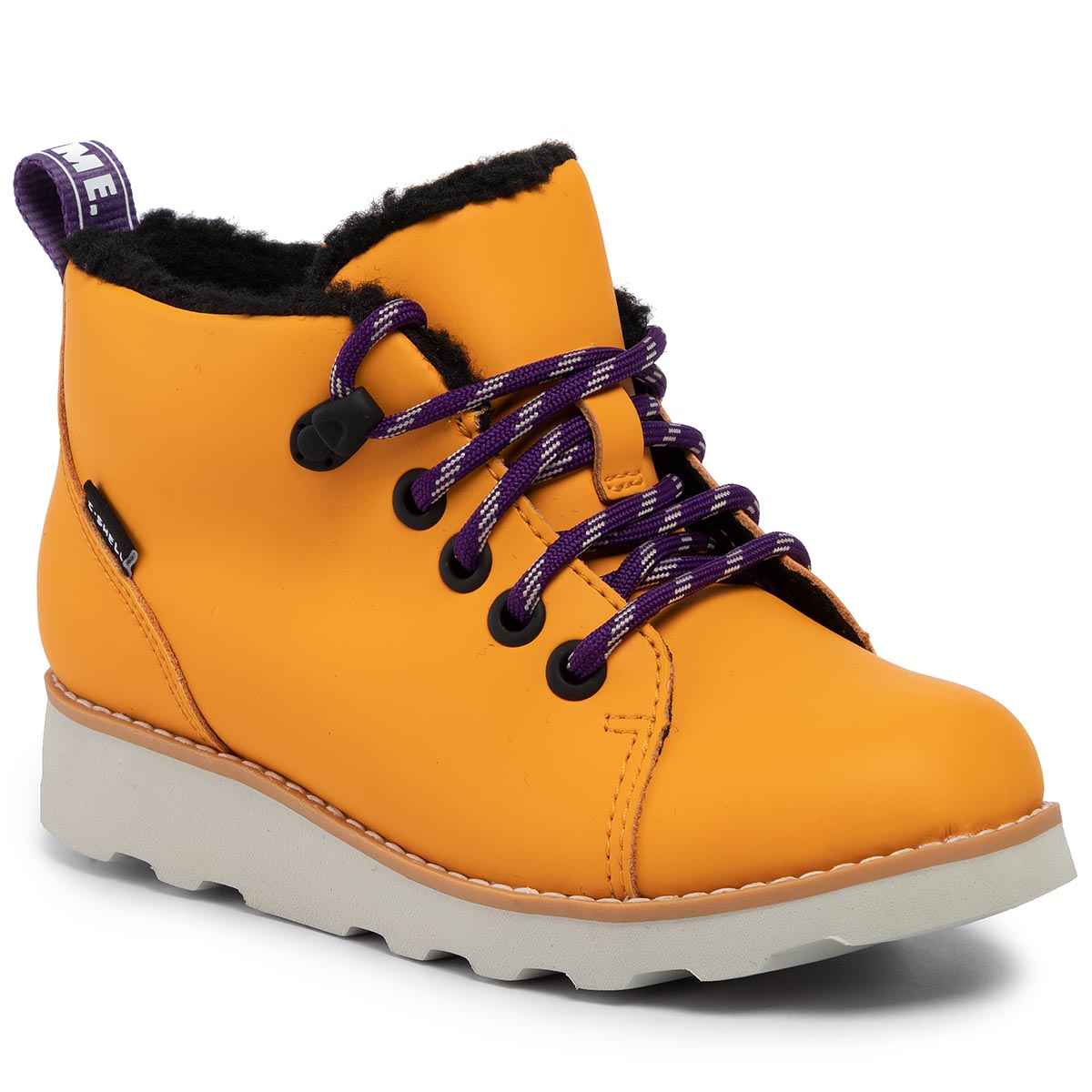 Ghete CLARKS - Crown Tor K 261433377 Yellow Leather