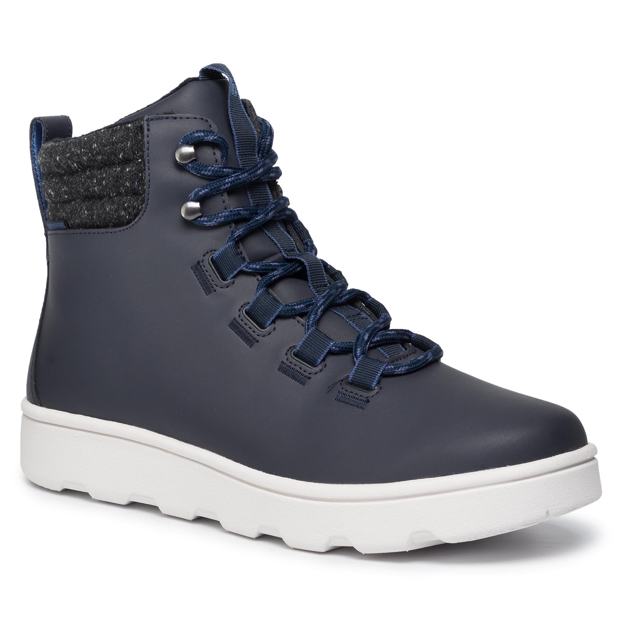 Ghete Clarks - Step Explor Hi 261459807 Navy imagine