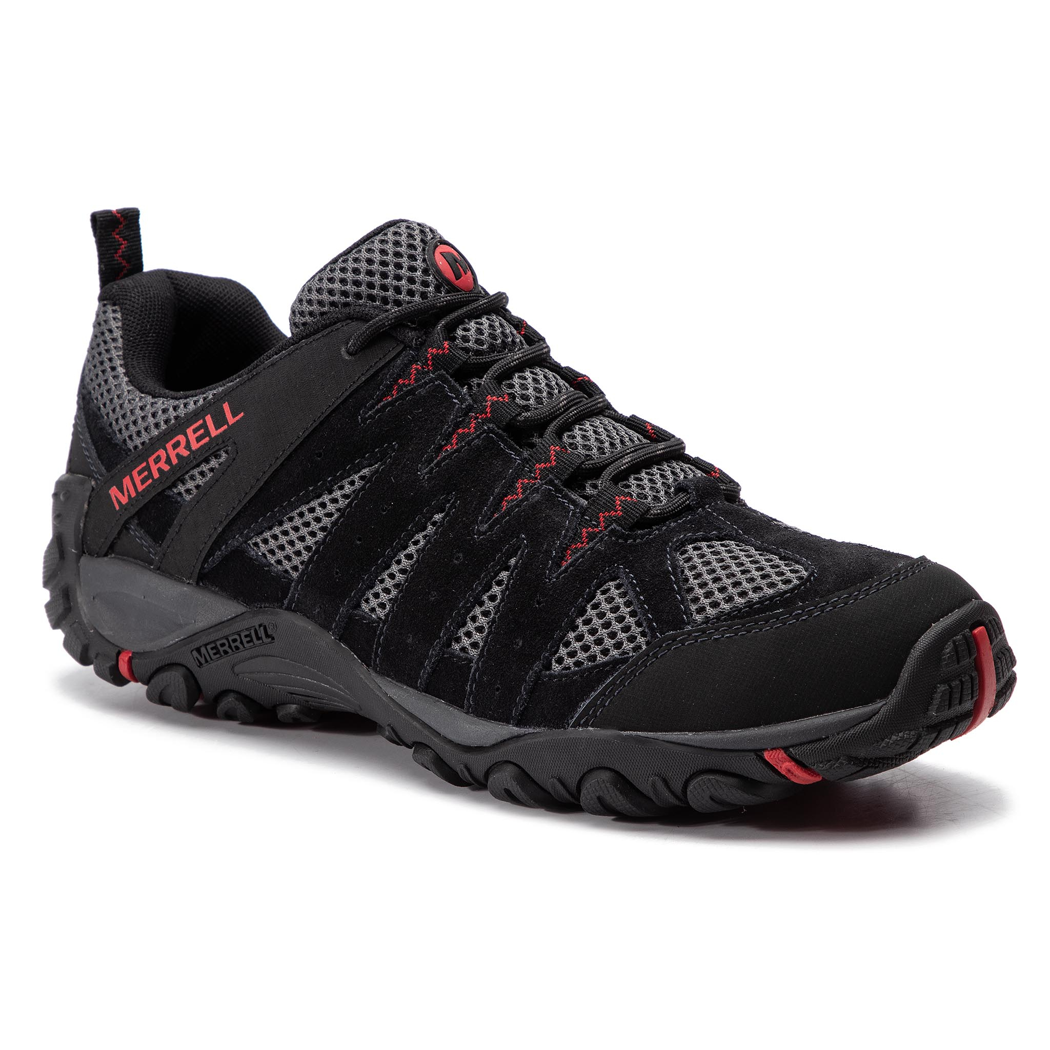 Trekkings Merrell - Accentor 2 Vent J48517 Black imagine epantofi.ro 2021