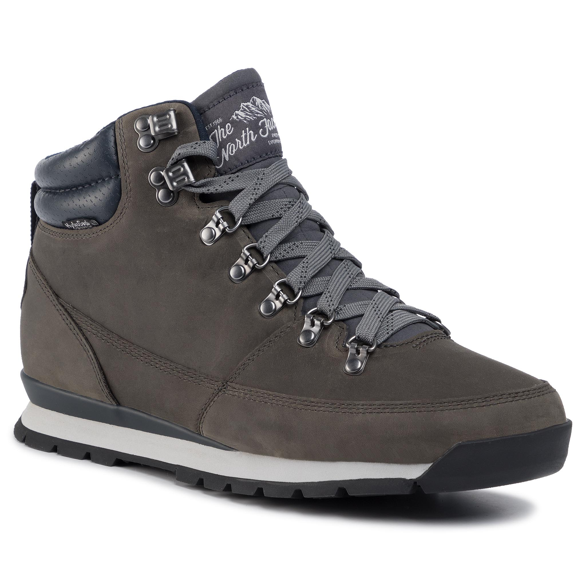 Trekkings THE NORTH FACE - Back-To Berkeley Redux Leather T0CDL0H73 Zinc Grey/ Ebony Grey