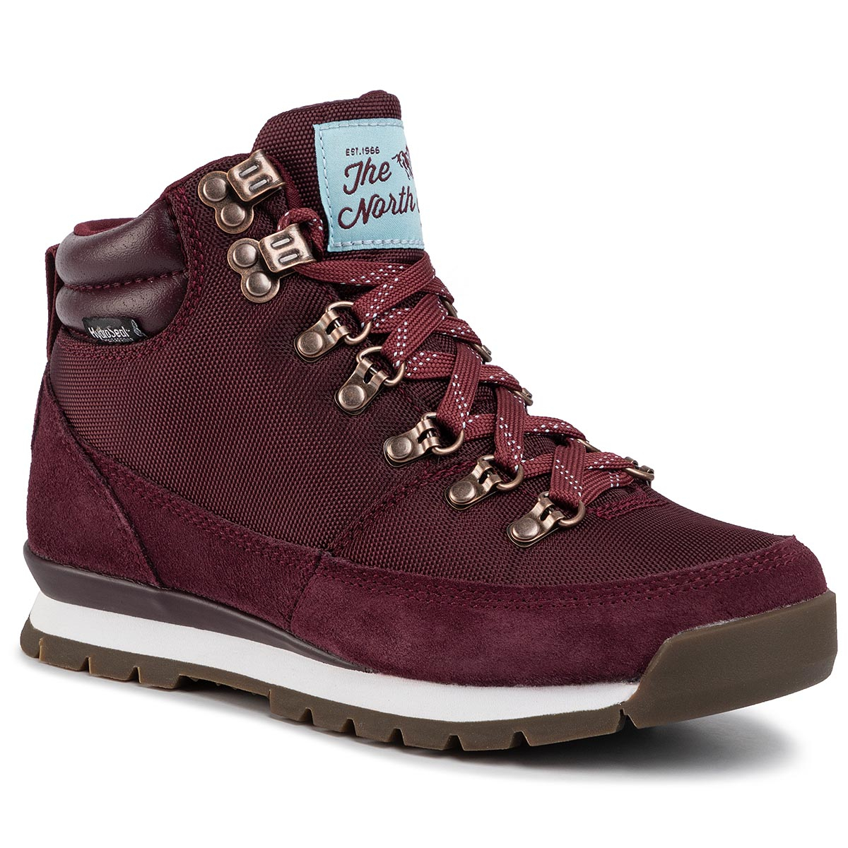 Trekkings The North Face - Back-To-Berkeley Redux Nf00clu7gu3 Deep Garnet Red/Stratosphere Blue imagine epantofi.ro 2021