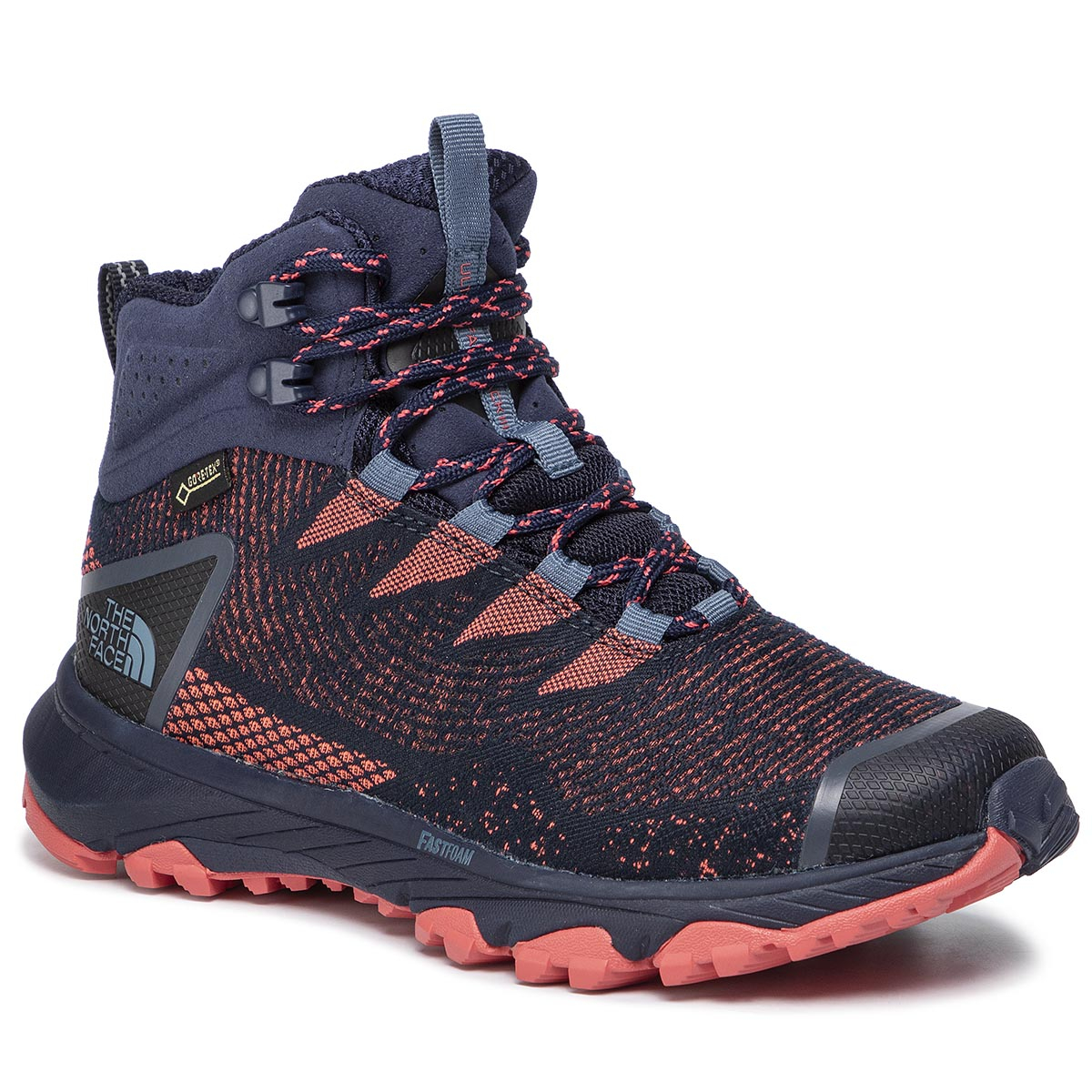 Trekkings THE NORTH FACE - Ultra Fastpack III Mid Gtx (Woven) GORE-TEX NF0A3MKVC7W Peacoat Navy/Fiesta Red