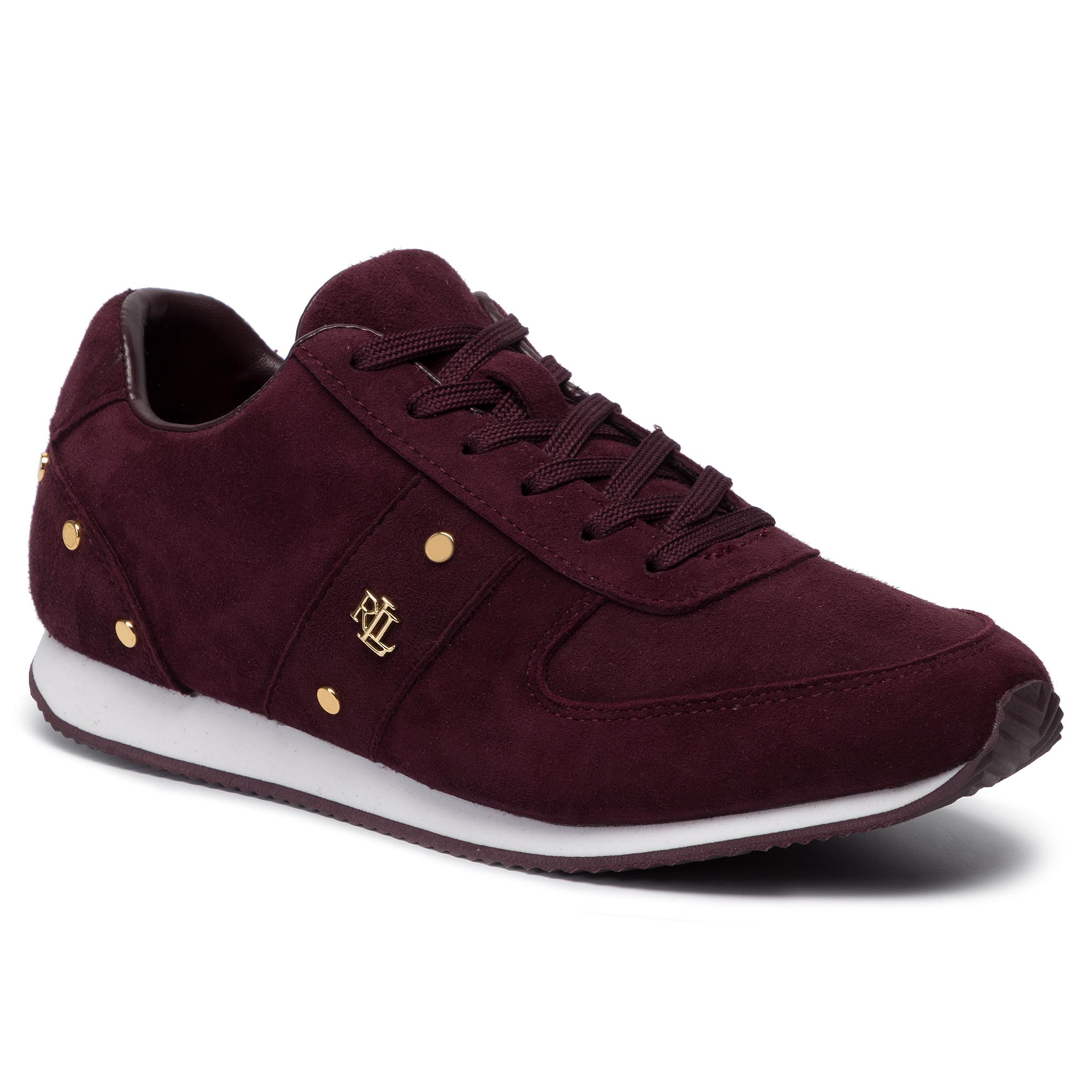 Sneakers LAUREN RALPH LAUREN - Canonbury 802764484002 Bordeaux