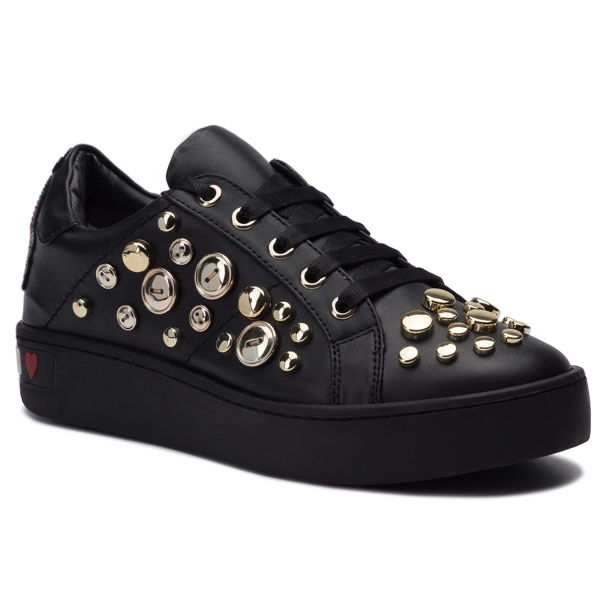 Sneakers LOVE MOSCHINO - JA15103G18IB0000 Nero