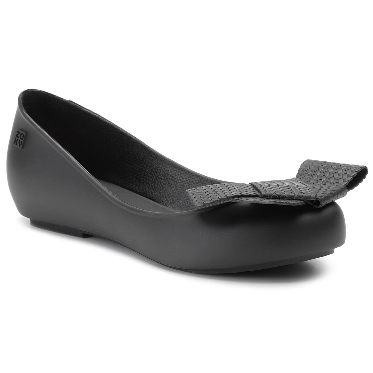Balerini Zaxy - New Pop Elegance Fem 82771 Black 01003 Ee285007 02064 imagine epantofi.ro