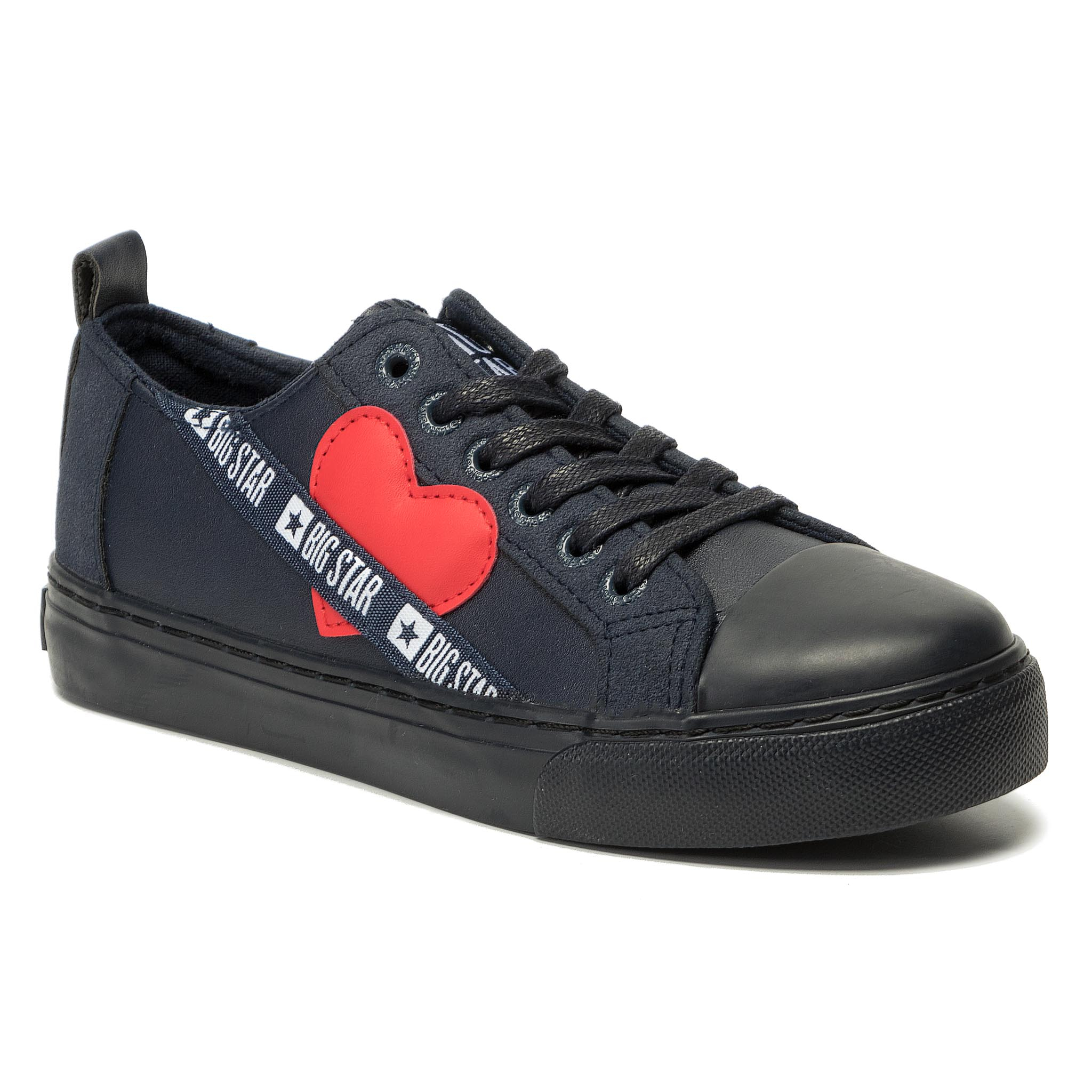 Teniși Big Star - Ee274258 Navy/Red imagine epantofi.ro 2021