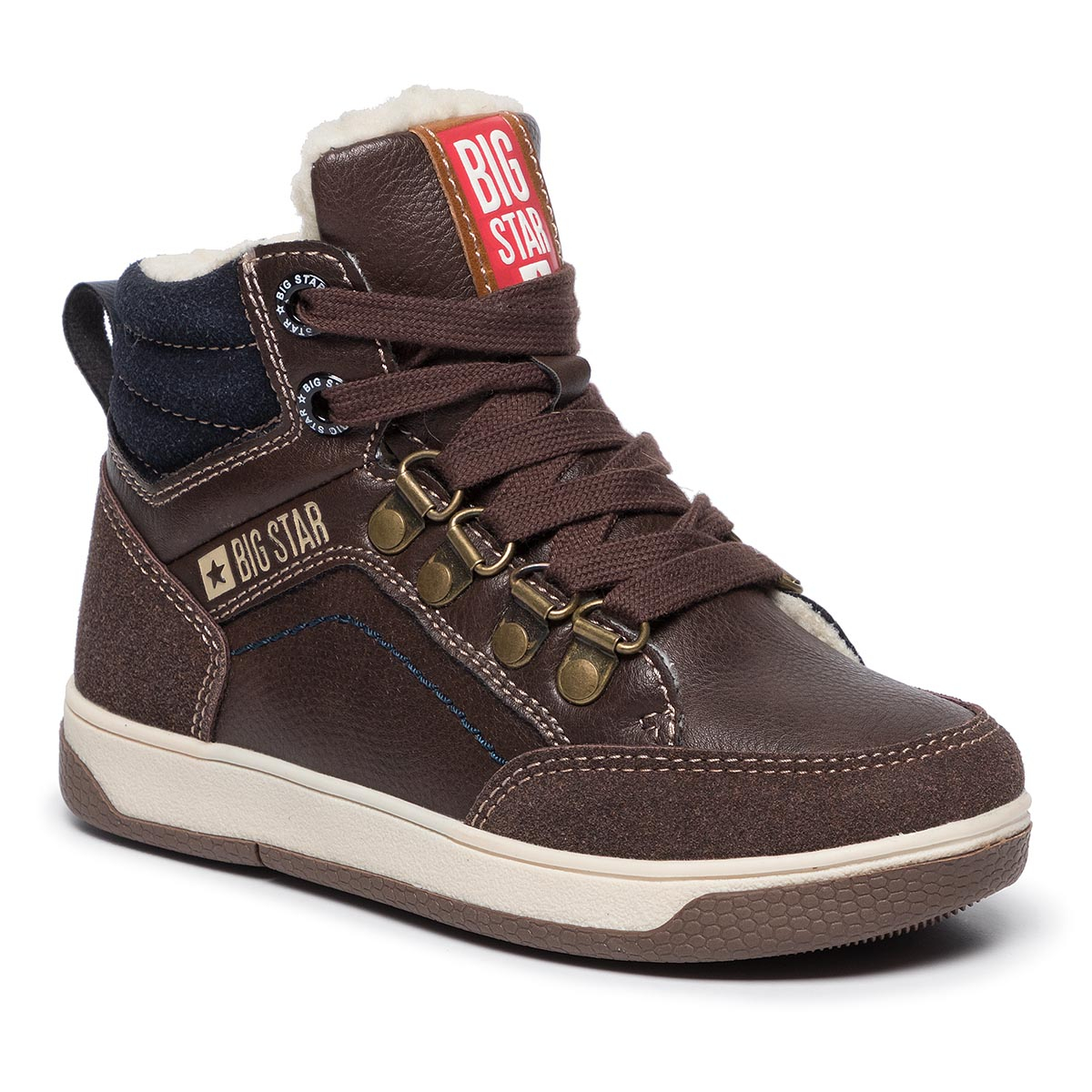 Ghete BIG STAR - EE374087 Dk. Brown