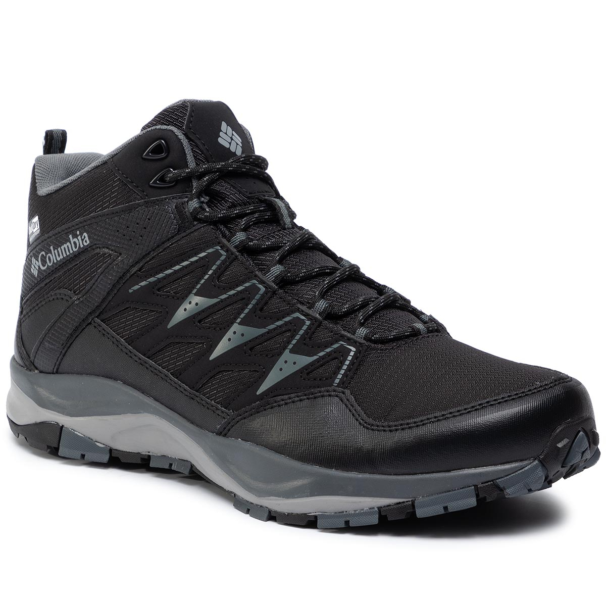 Trekkings Columbia - Wayfinder Mid Outdry Bm1900 Black/Steam 012 imagine epantofi.ro 2021