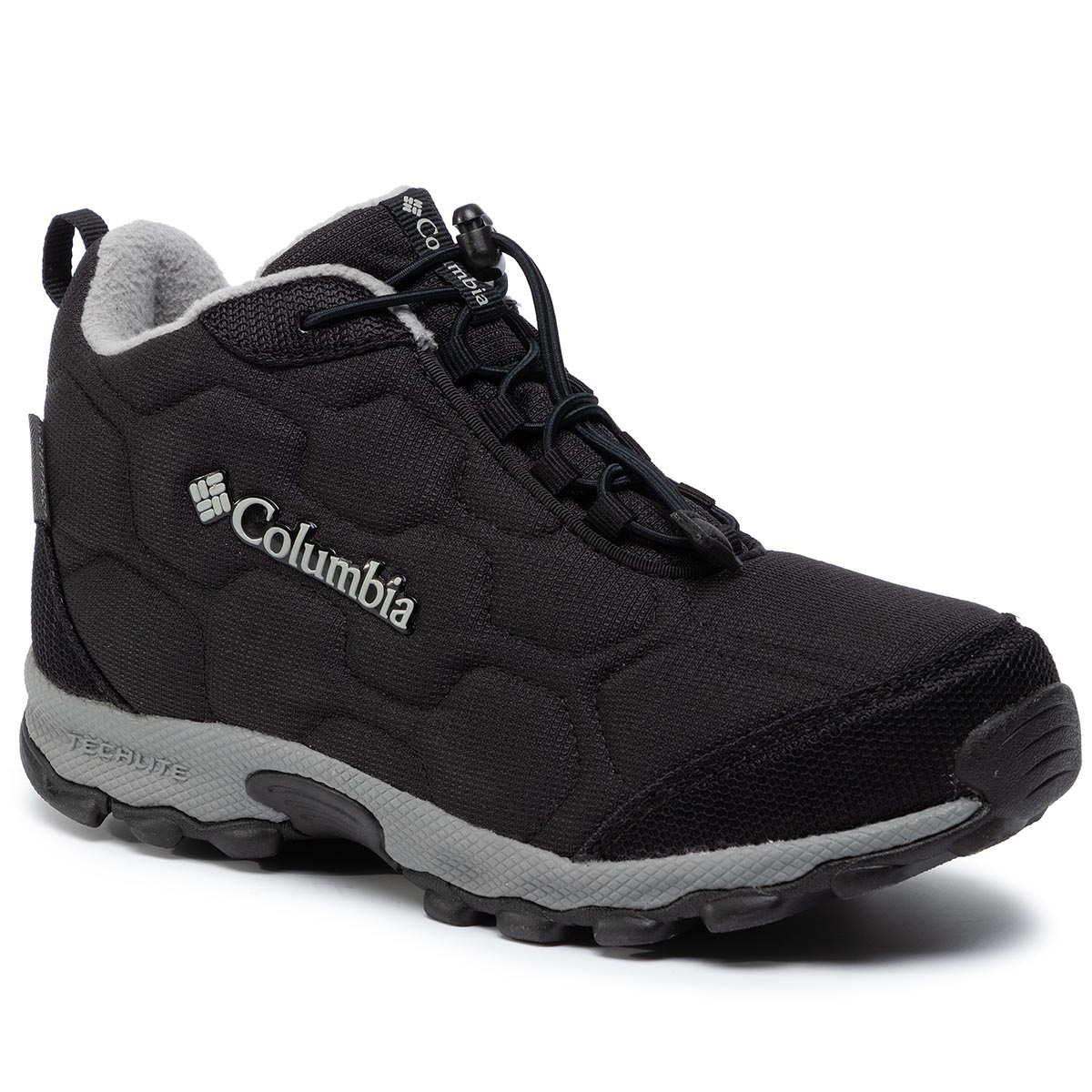 Trekkings COLUMBIA - Youth Firecamp Mid 2 Wp BY1201 Black/Monument 010