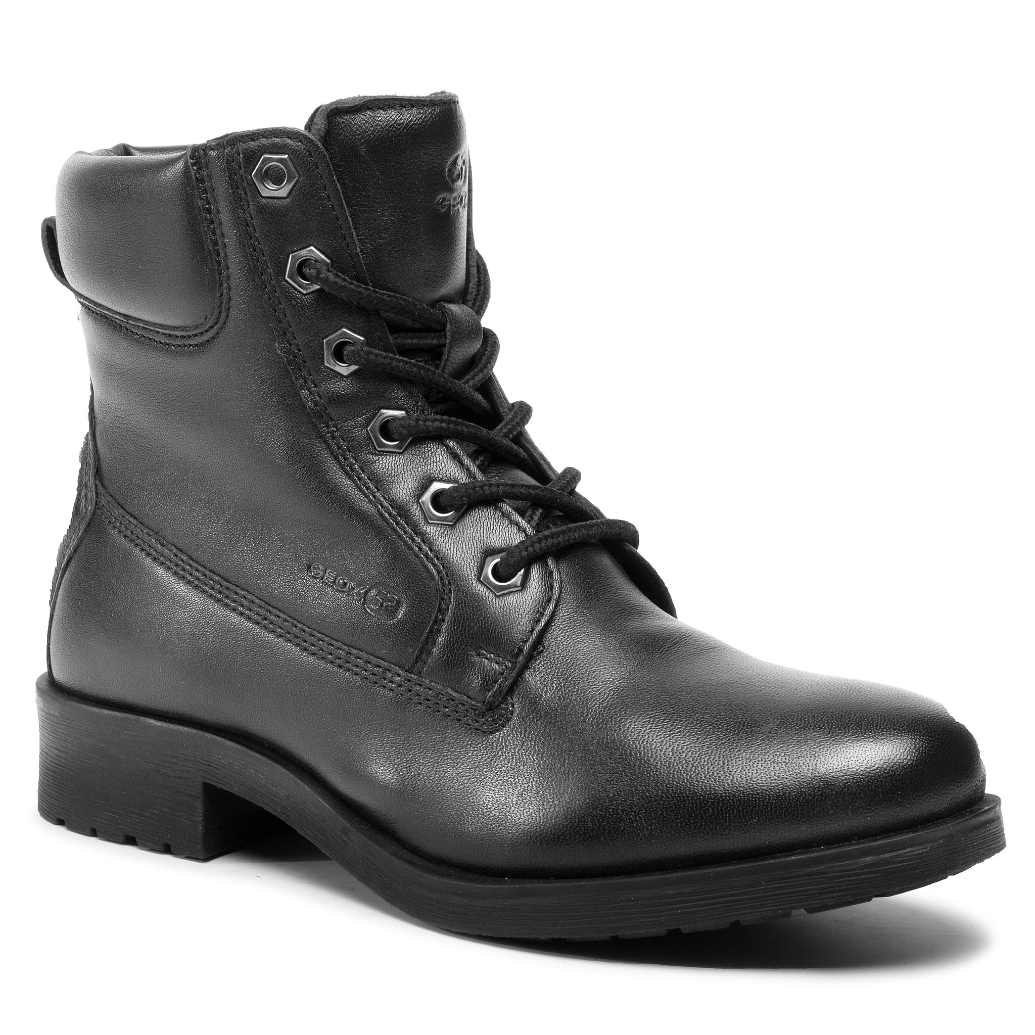 Trappers GEOX - D Rawelle A D946RA 0TUBC C9999 Black