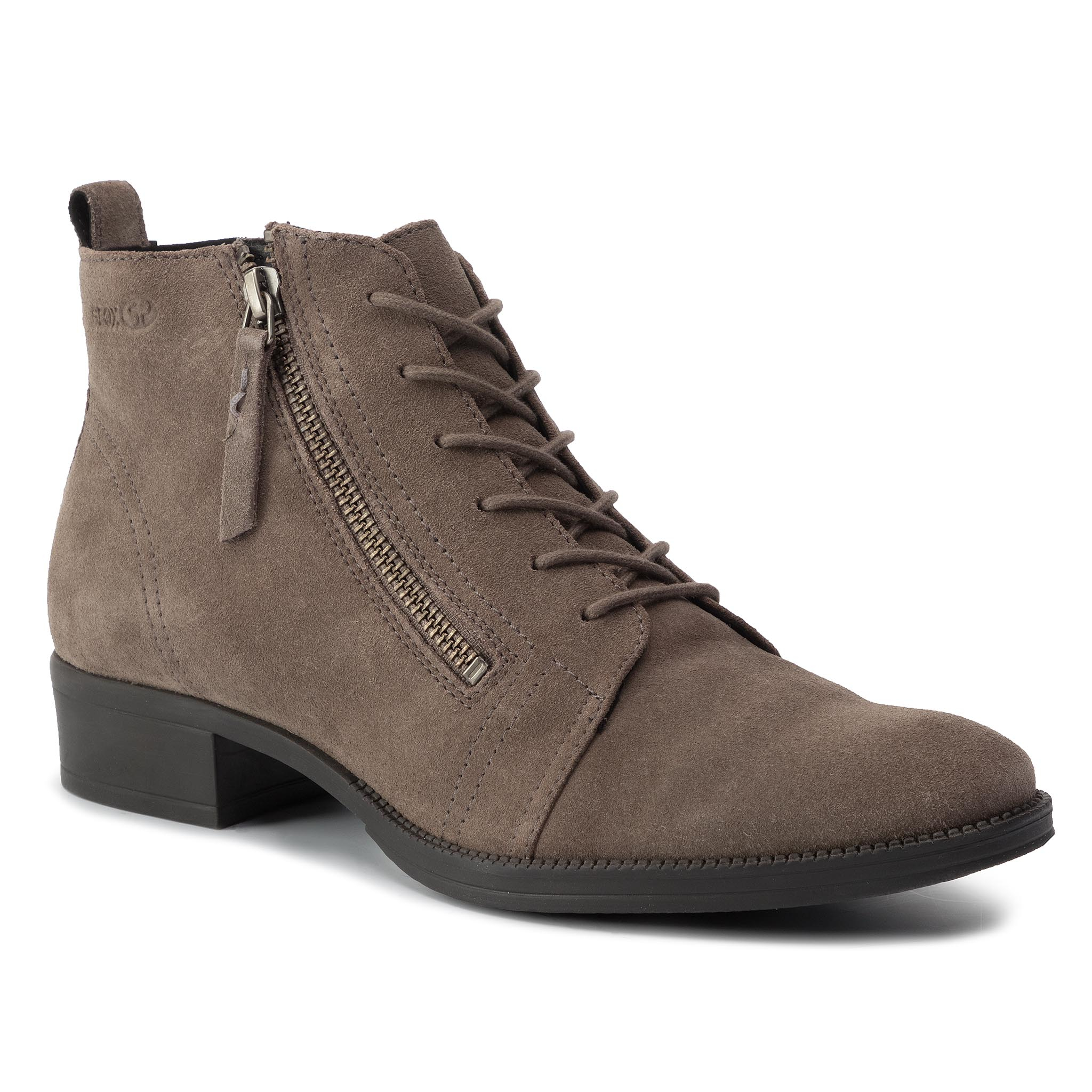 Botine GEOX - D Laceyin D D94BFD 00022 C6004 Chestnut