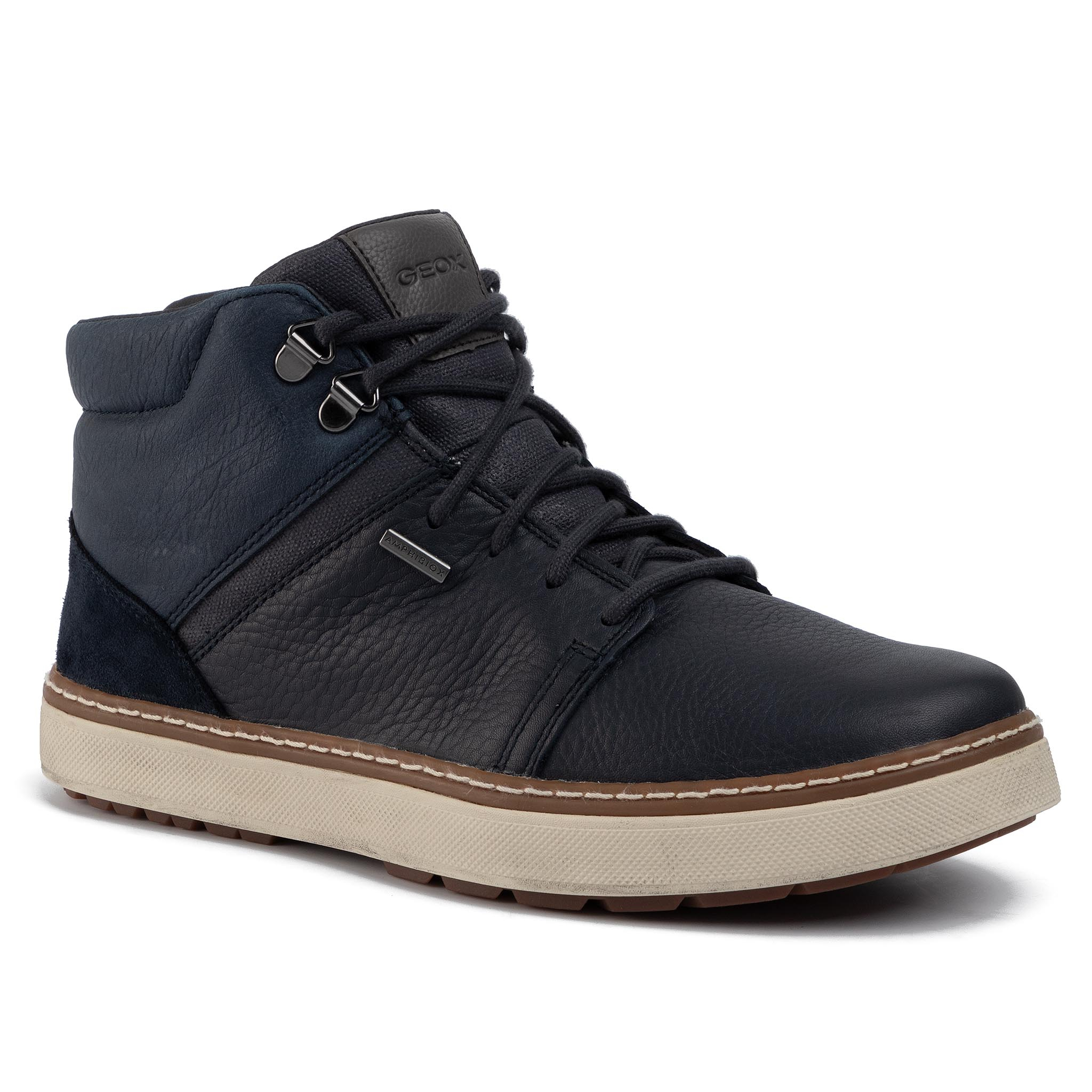Ghete Geox - U Mattias Babx A U84t1a 046fe C4002 Navy 410 imagine