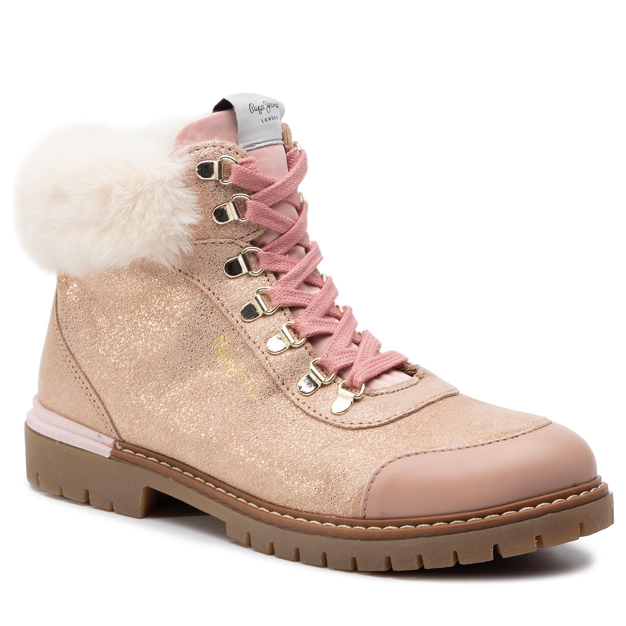 Trappers PEPE JEANS - Combat Mountain PGS50141 Powder Rose 318
