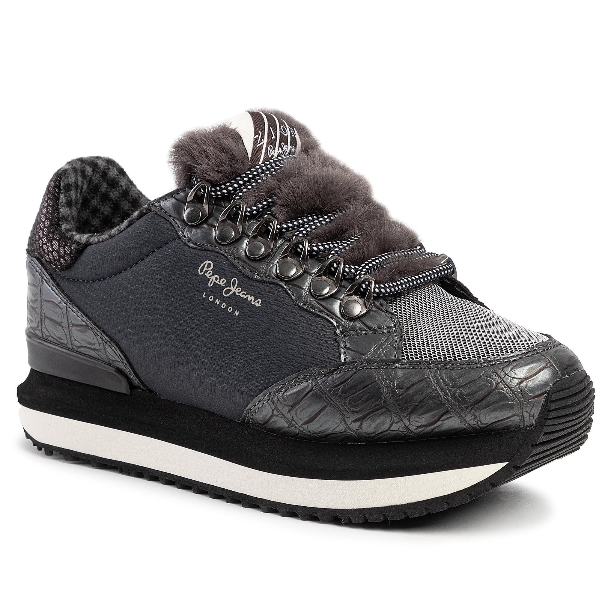 Sneakers PEPE JEANS - Zion Fur PLS30905 Admiral 592