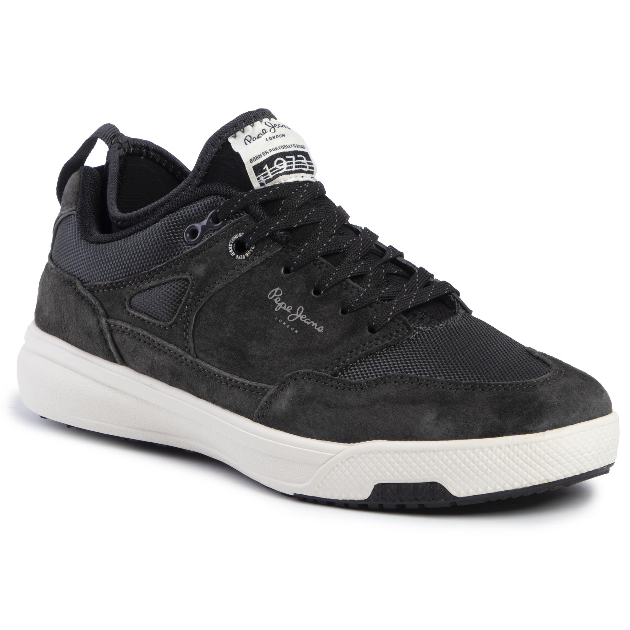 Sneakers PEPE JEANS - Slate Pro 01 PMS30571 Antracite 982
