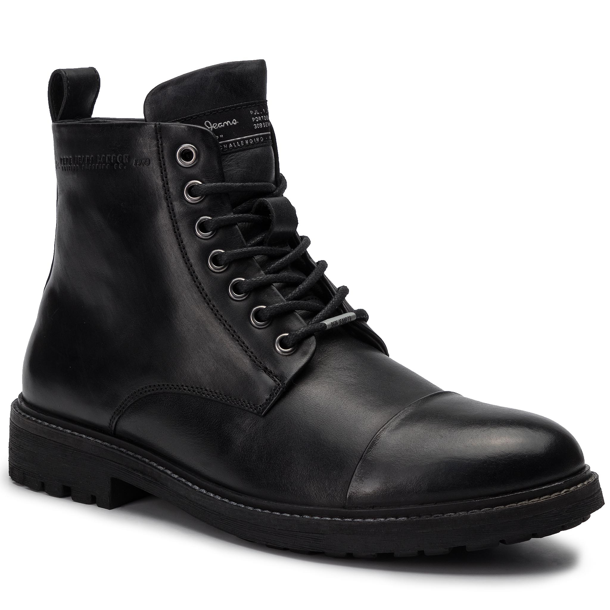 Trappers PEPE JEANS - Porter Boot PMS50178 Black 999
