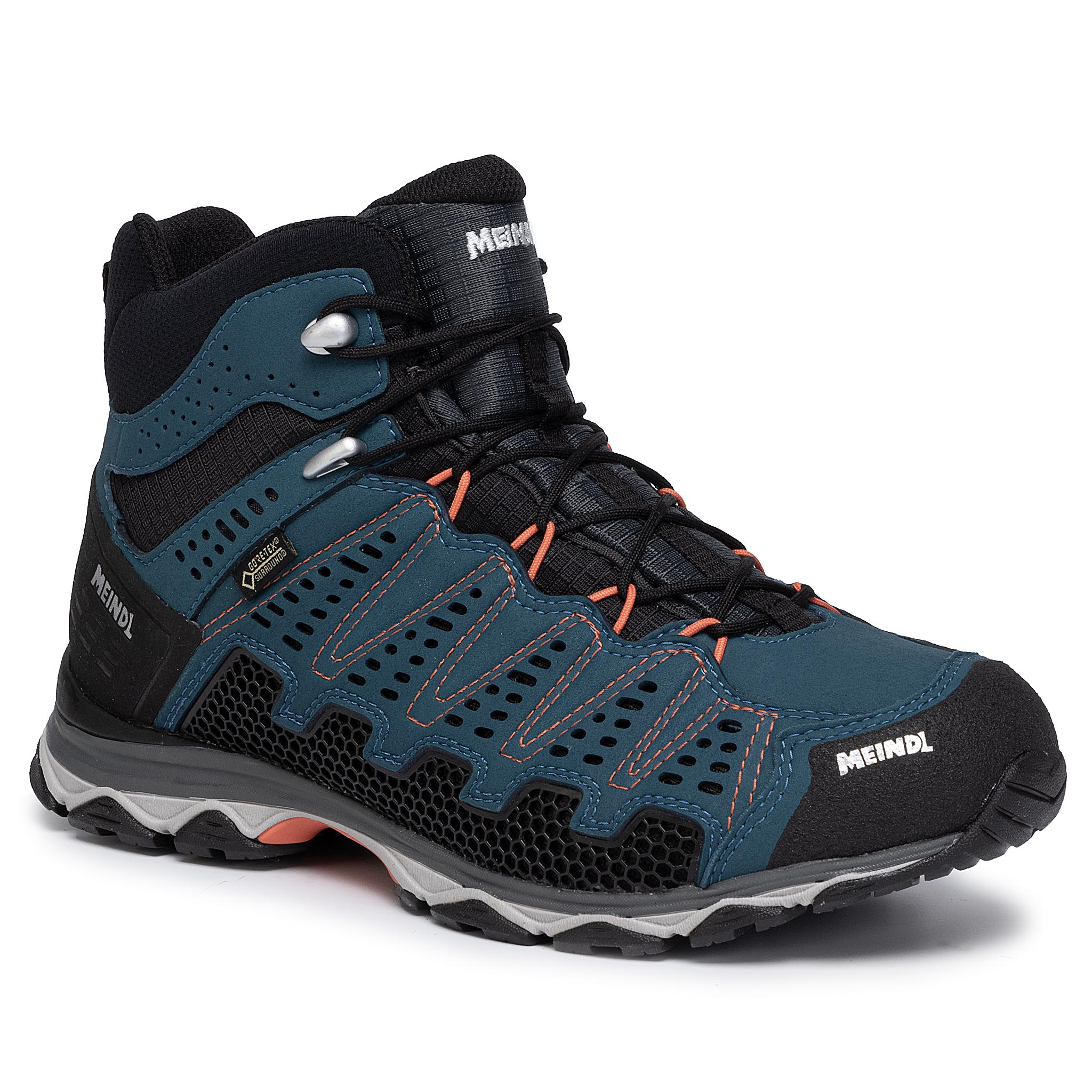 Trekkings MEINDL - X-So 70 Mid Gtx GORE-TEX 3986 Blau/Orange 09