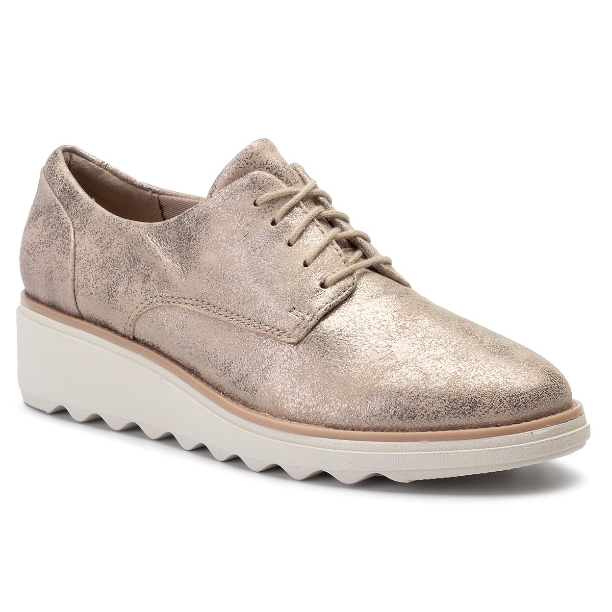 Oxford CLARKS - Sharon Crystal 261400714 Pewter