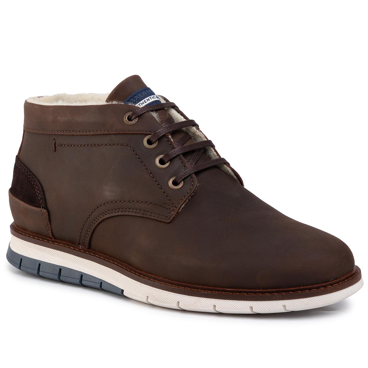 Ghete Salamander - Matheus 31-56507-64 Dark Brown/Brown/Navy imagine