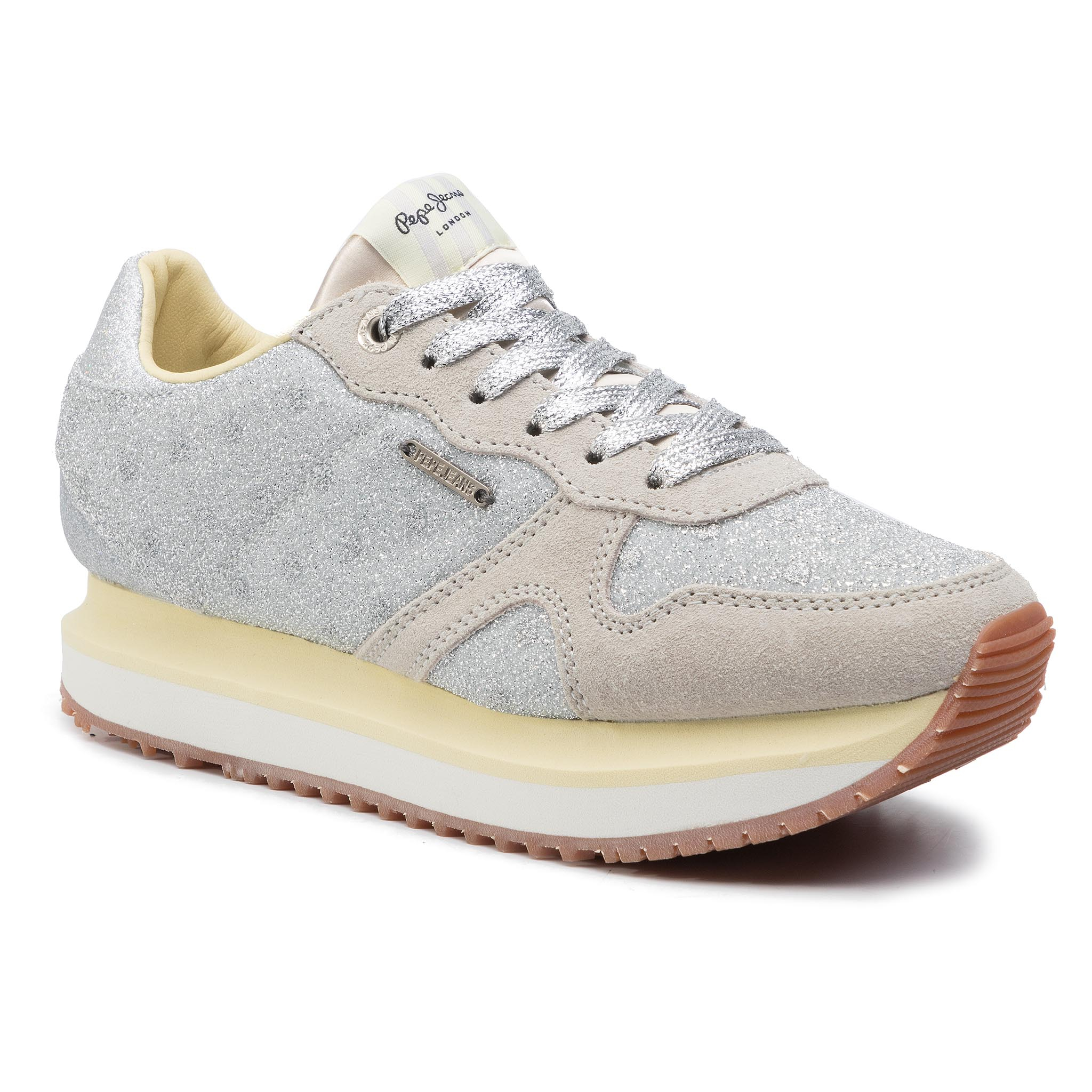 Sneakers PEPE JEANS - Zion Remake PLS30827 Silver 934