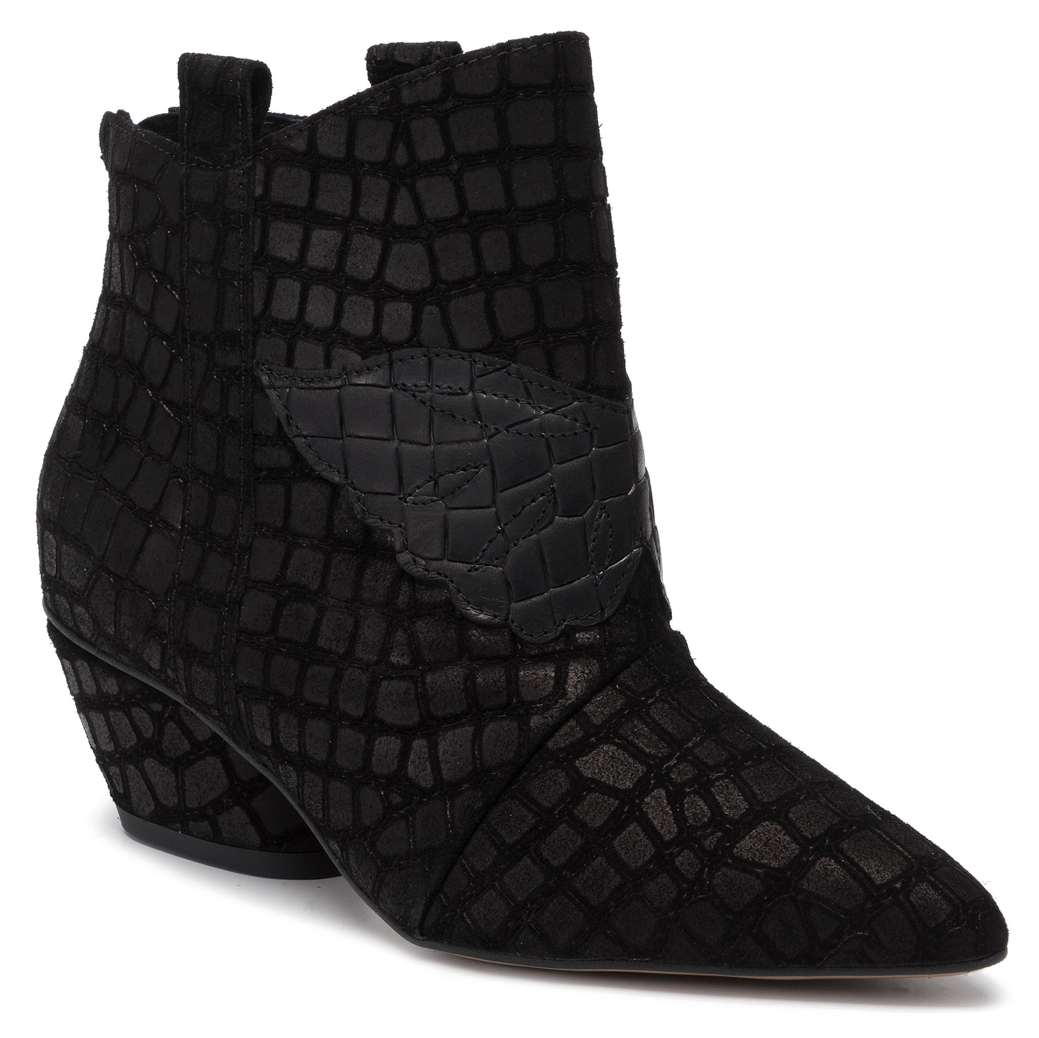 Botine L37 - Feel My Needs Sw20ss46 Black imagine epantofi.ro