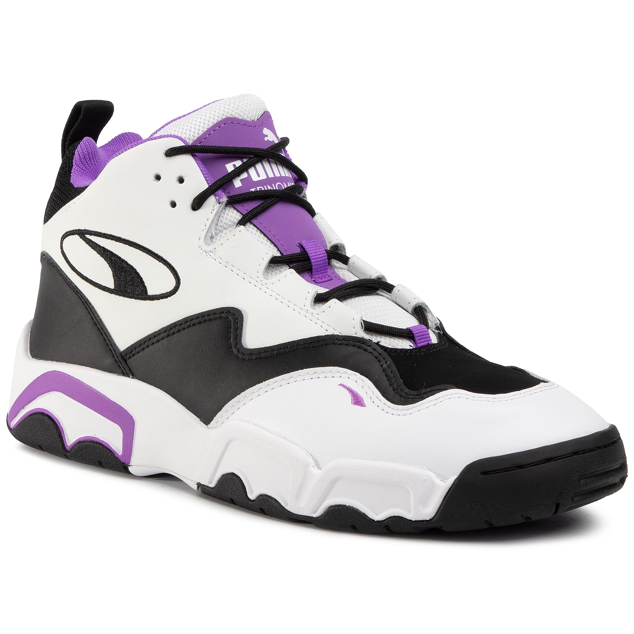 Pantofi Puma - Source Mid 36982906 06 Puma Black/Purple Glr/Whit imagine epantofi.ro 2021