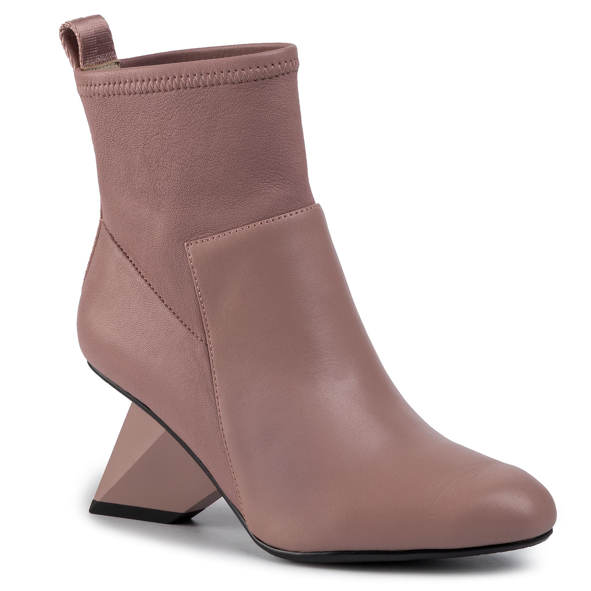 Botine UNITED NUDE - Rockit Pure Bootie 1048861016 Dusty Pink
