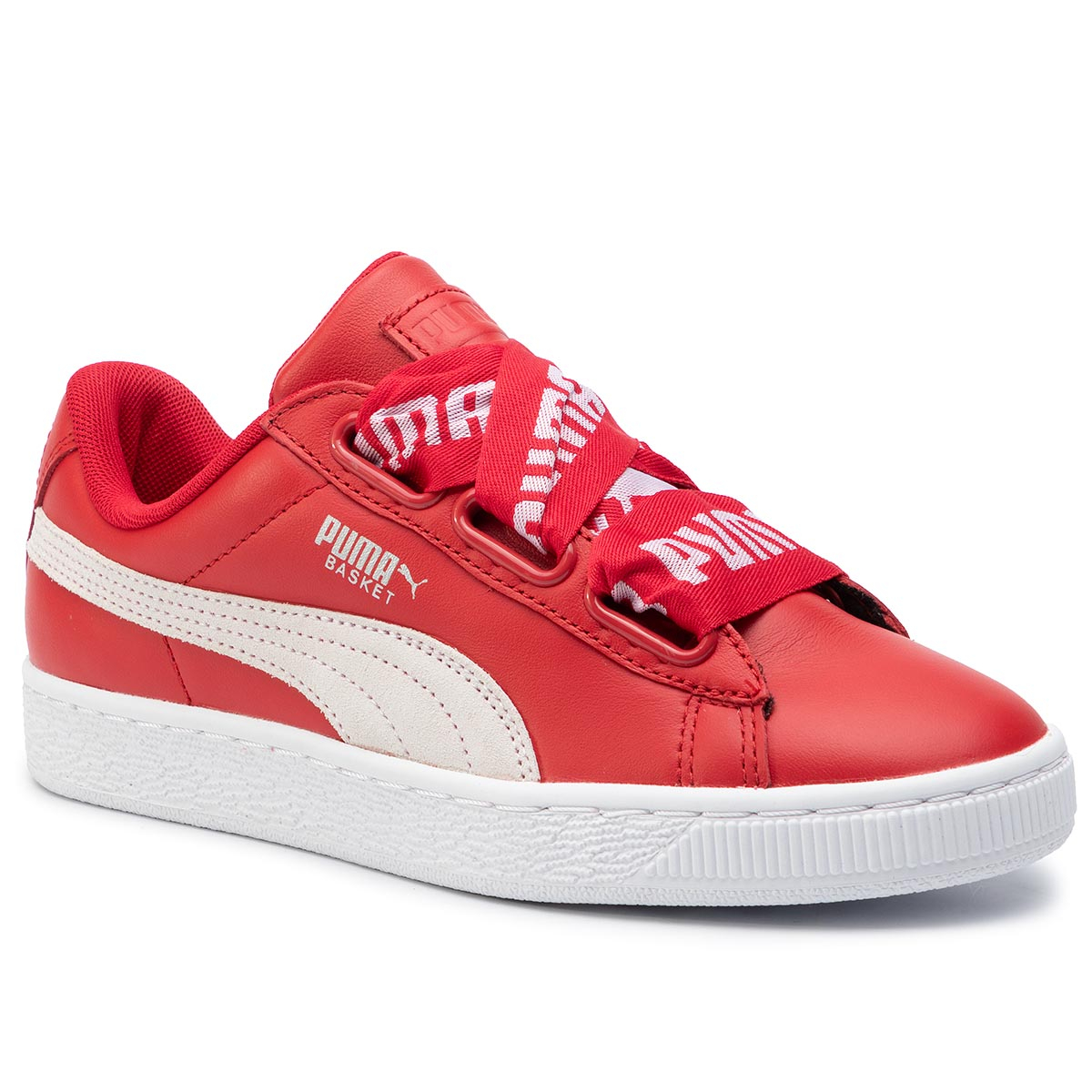 Sneakers PUMA - Basket Heart De Wn's 364082 03 Toreador/PumaWhite