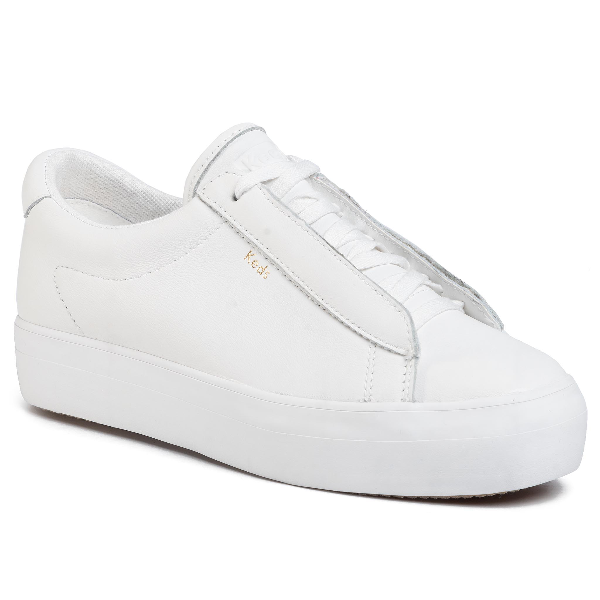 Sneakers KEDS - Rise Metro WH61100 Leather White