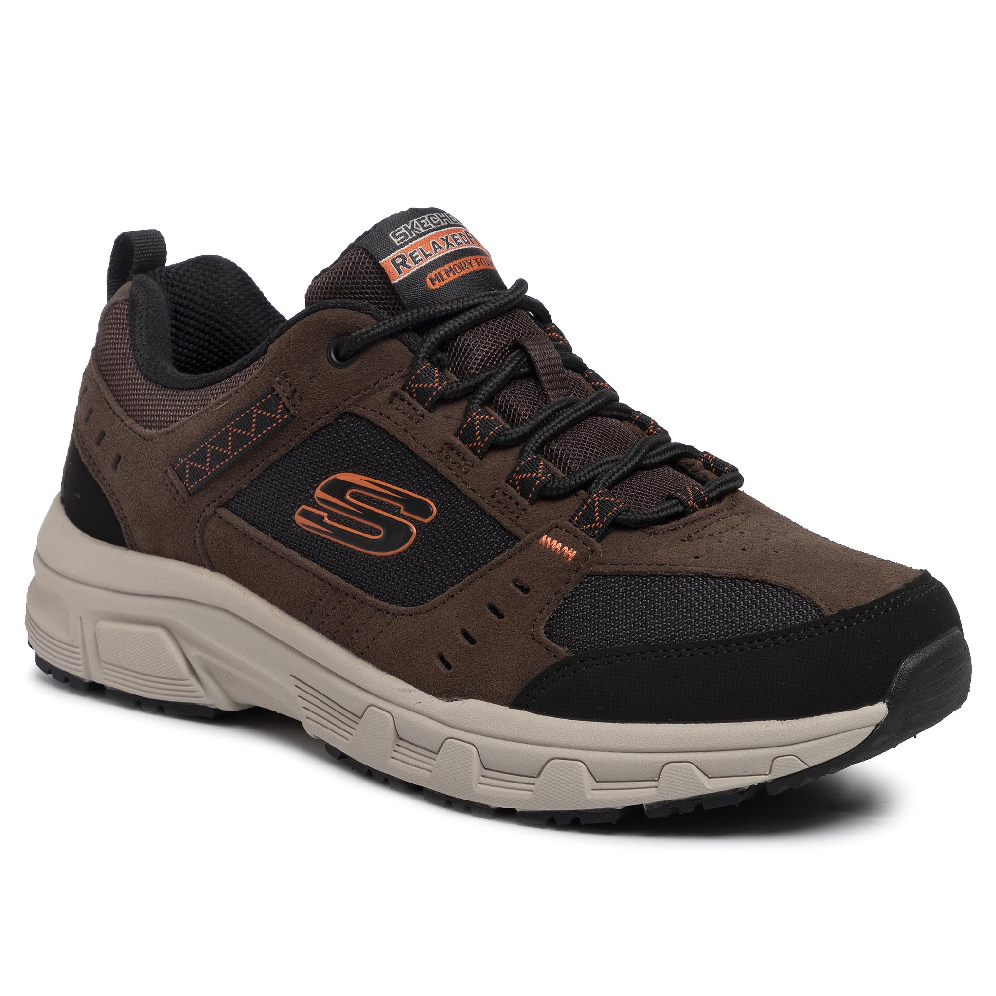 Trekkings SKECHERS - Oak Canyon 51893/CHBK Chocolate/Black