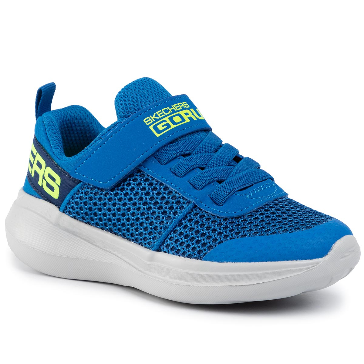 Sneakers SKECHERS - Tharo 97875L/BLLM Blue/Lime