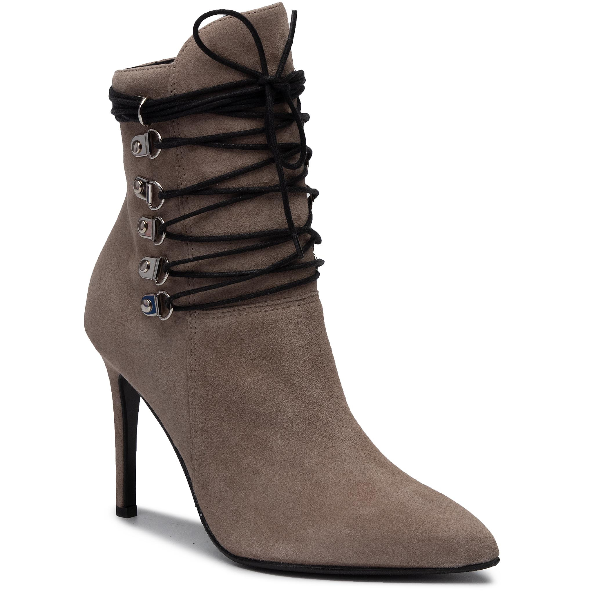 Botine SOLO FEMME - 14158-AB-K34/000-52-00 Taupe