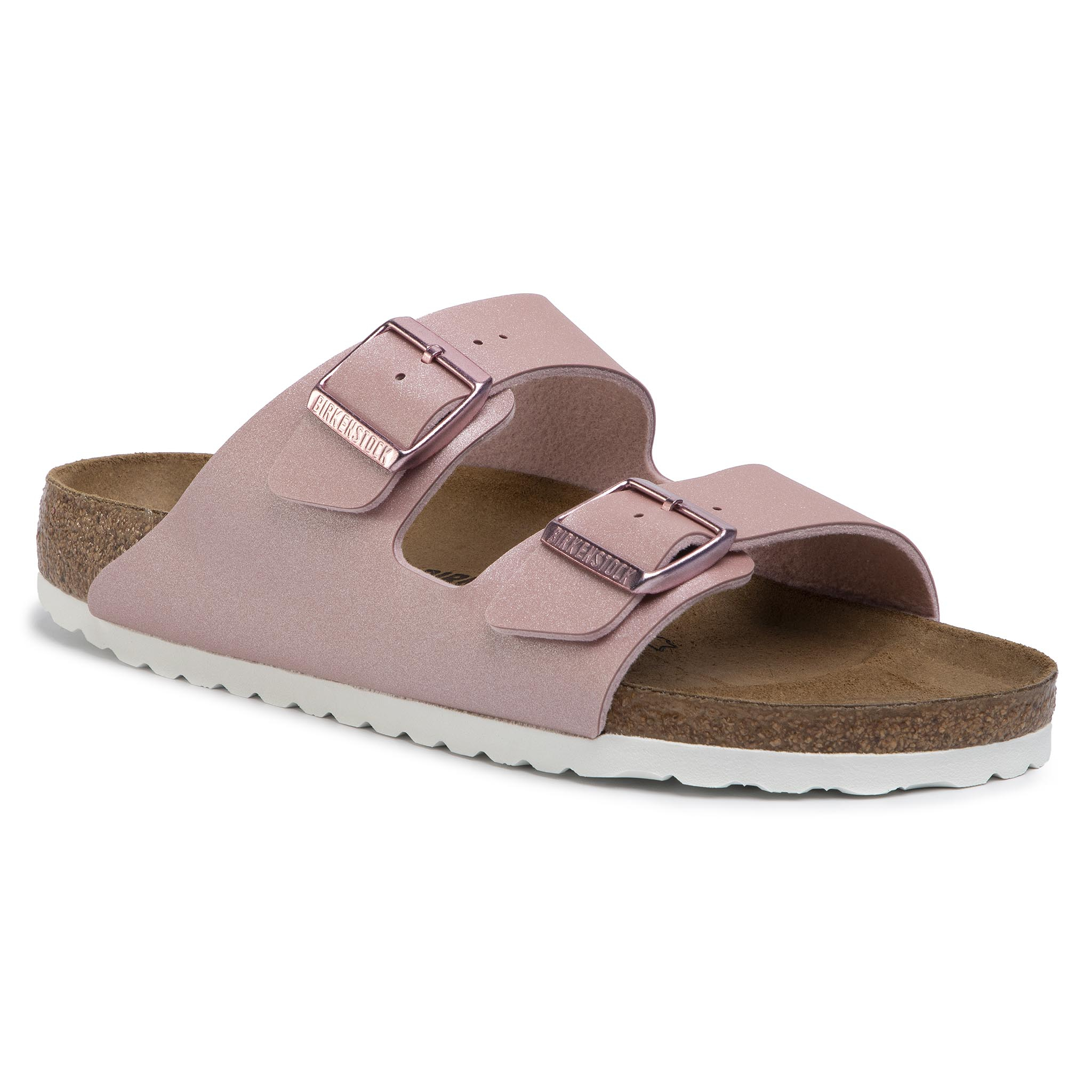 Șlapi BIRKENSTOCK - Arizona Bs 1016029 Icy Metallic Old Rose