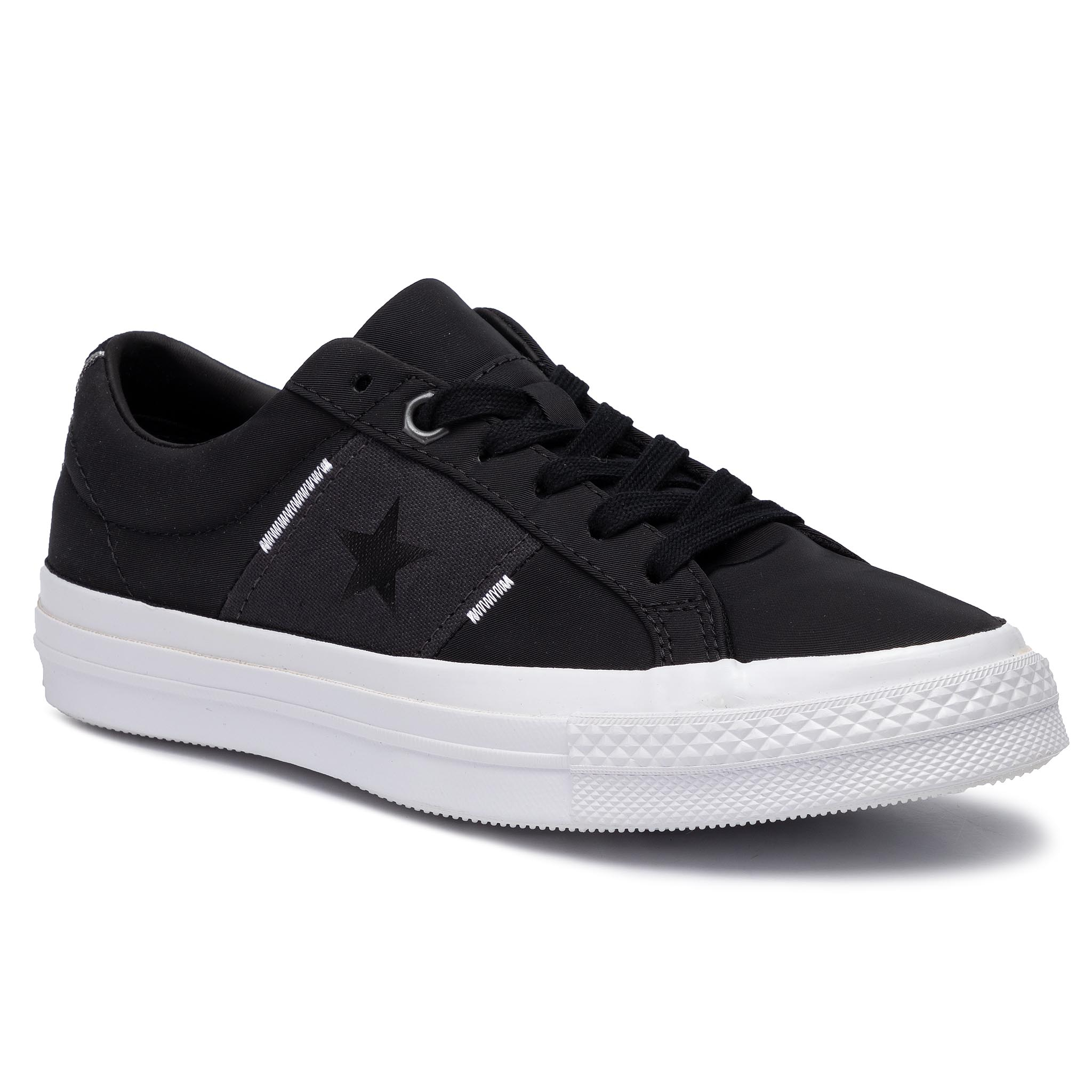 Teniși Converse - One Star Ox 165059c Black/Almost Black/White imagine epantofi.ro 2021
