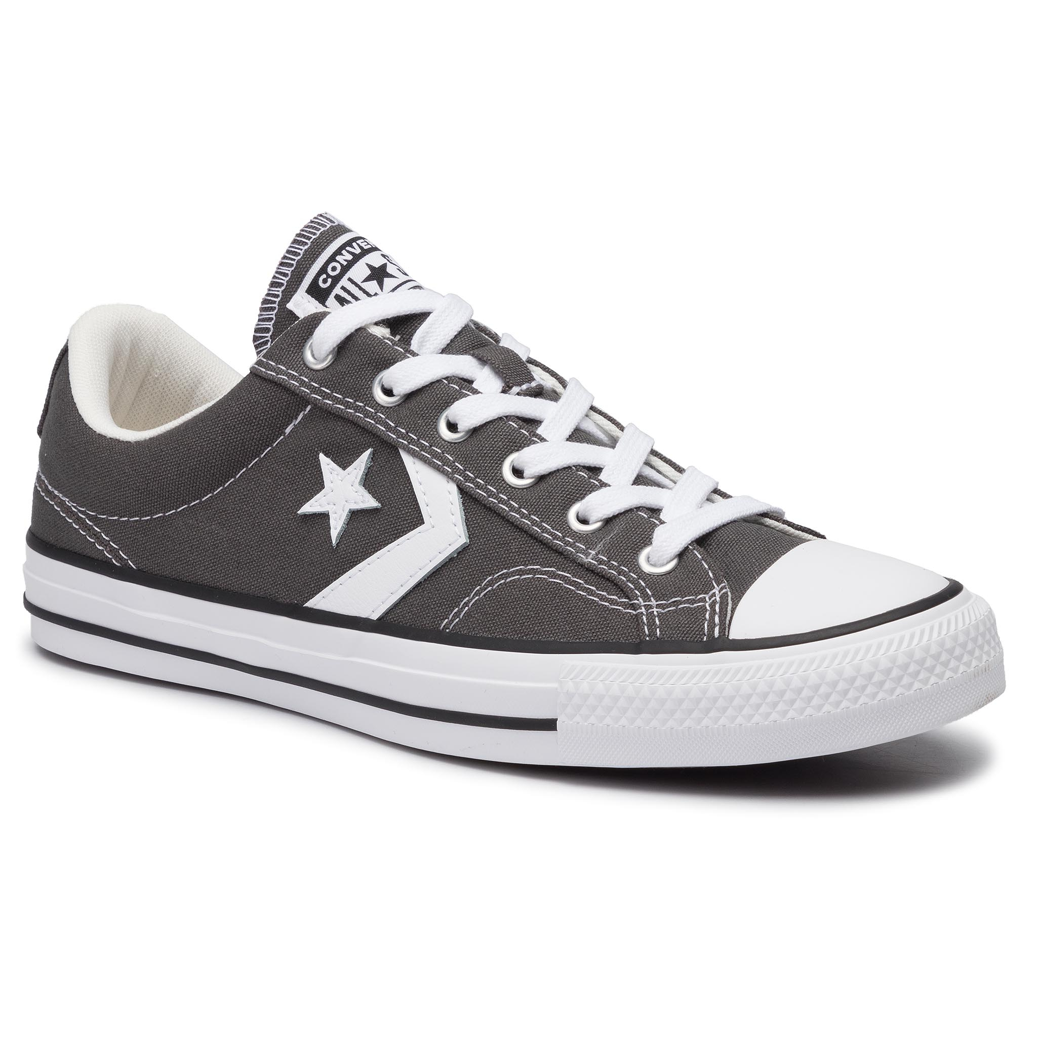 Teniși CONVERSE - Star Player Ox 165462C Carbon Grey/White/Black