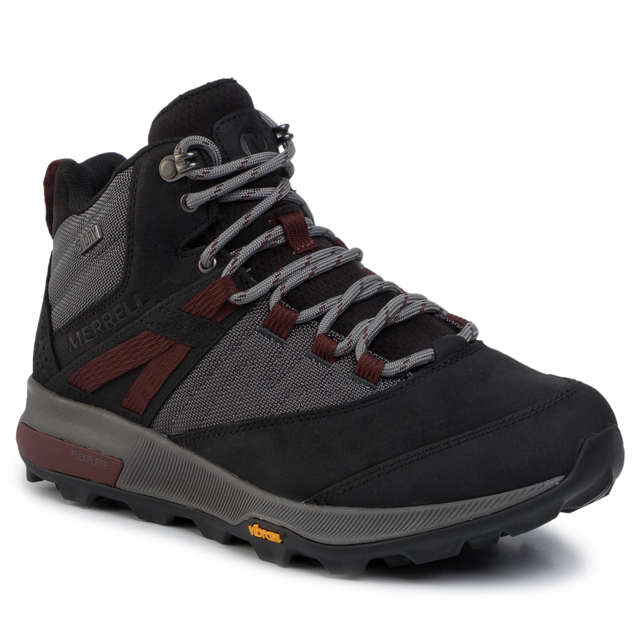 Trekkings Merrell - Zion Mid Wp J16885 Black imagine epantofi.ro 2021