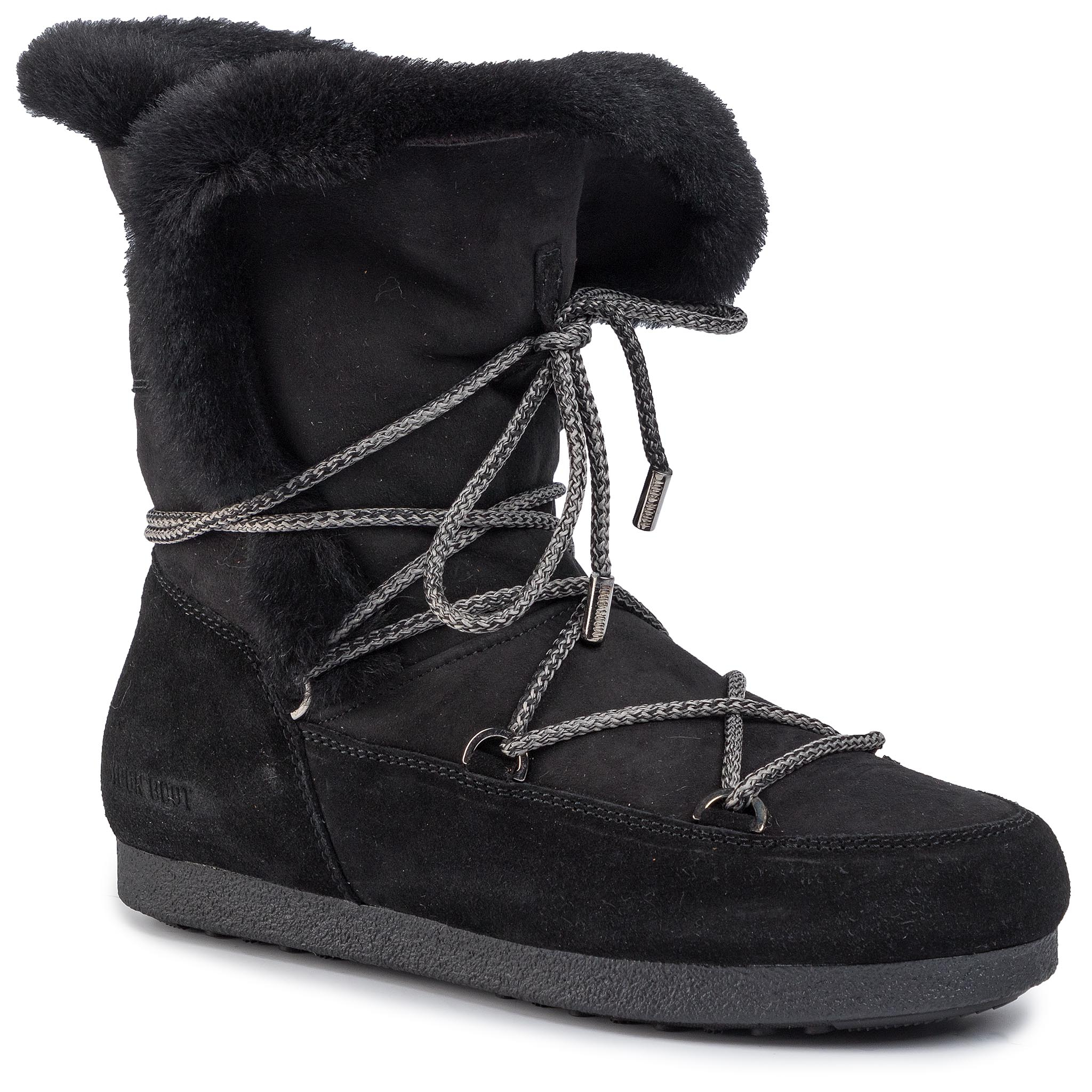 Cizme de zăpadă MOON BOOT - Far Side High Shear 242007004 Black