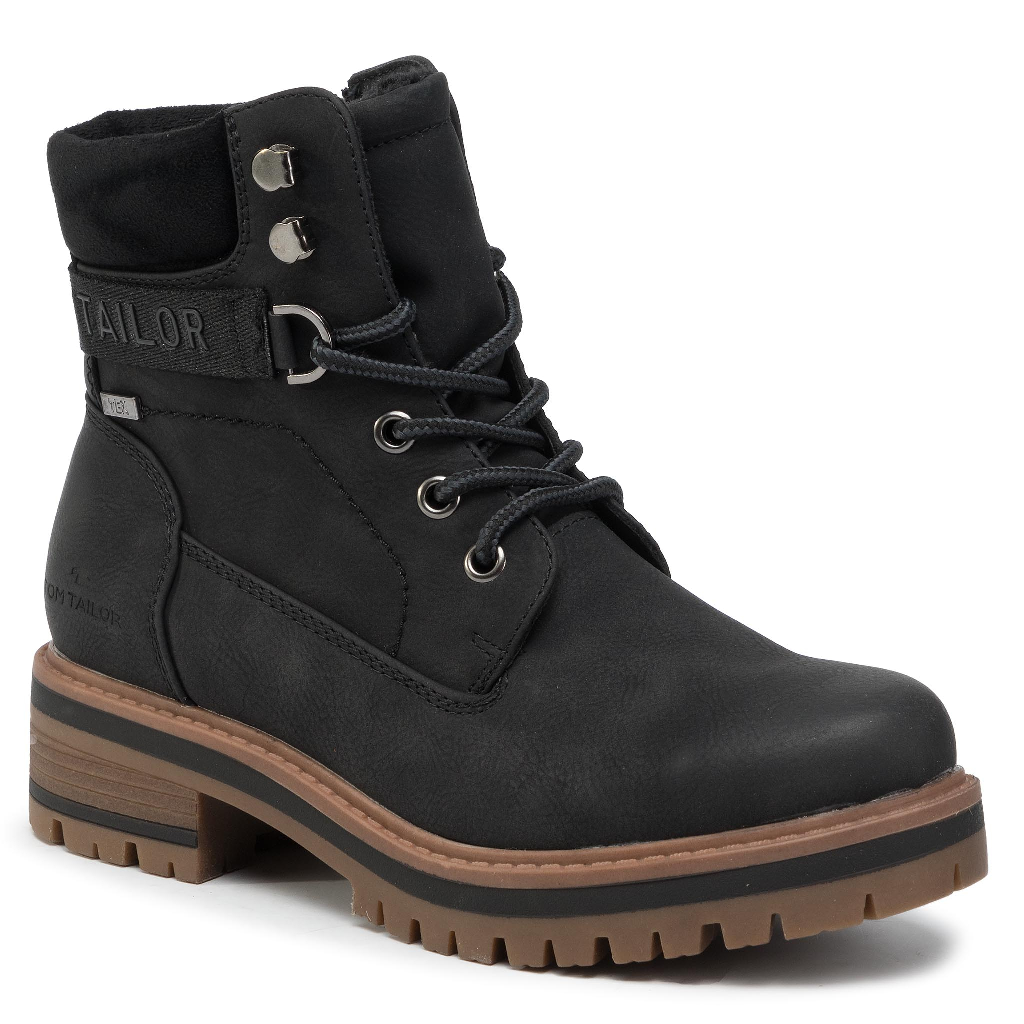 Trappers TOM TAILOR - 799000600 Black