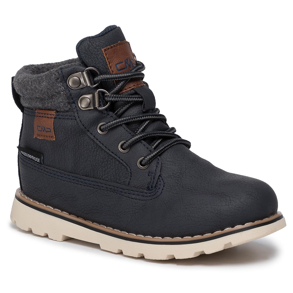 Trappers CMP - Kids Thuban Lifestyle Shoes Wp 39Q4944 Antracite U423