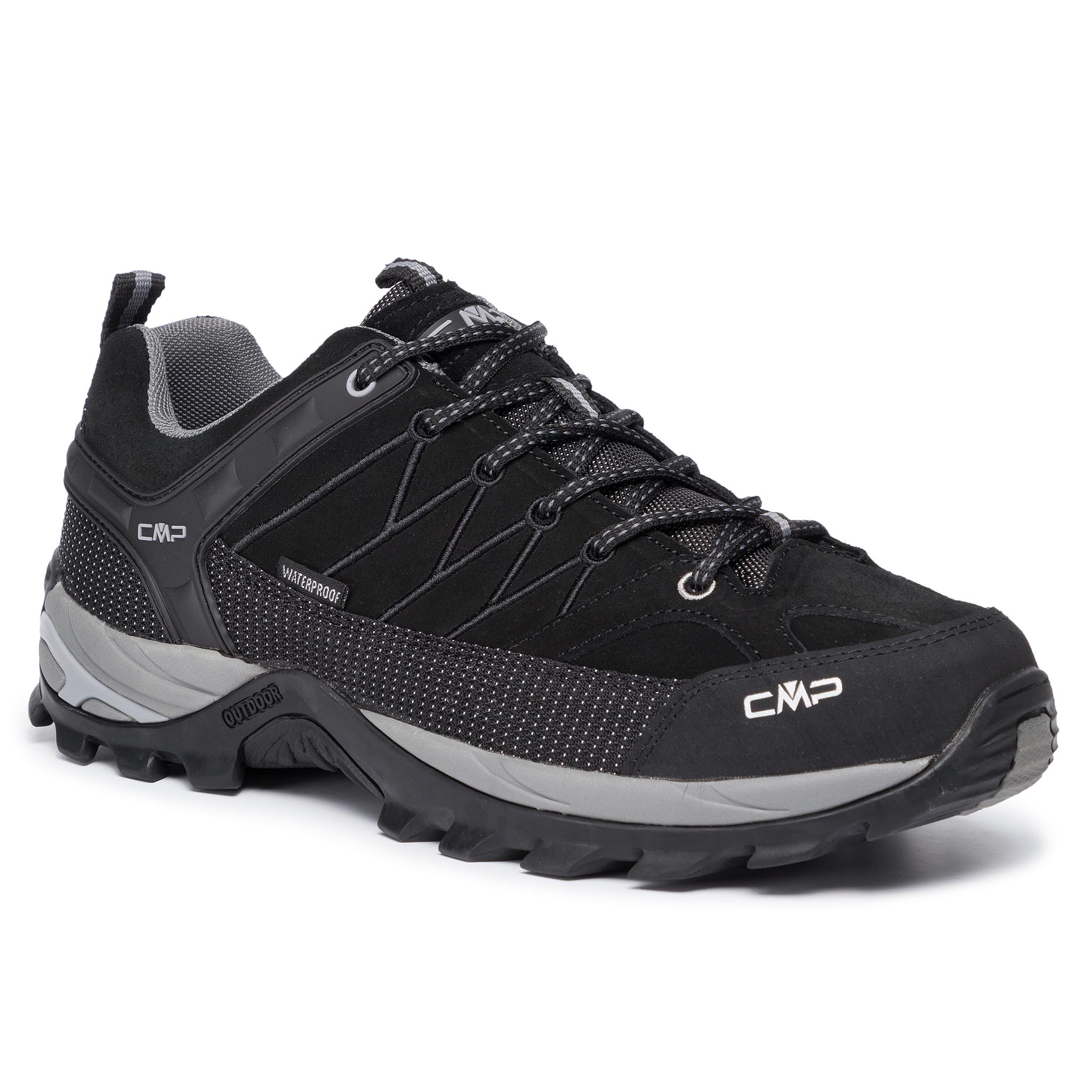 Trekkings CMP - Rigel Low Trekking Shoes Wp 3Q13247 Nero/Grey 73UC