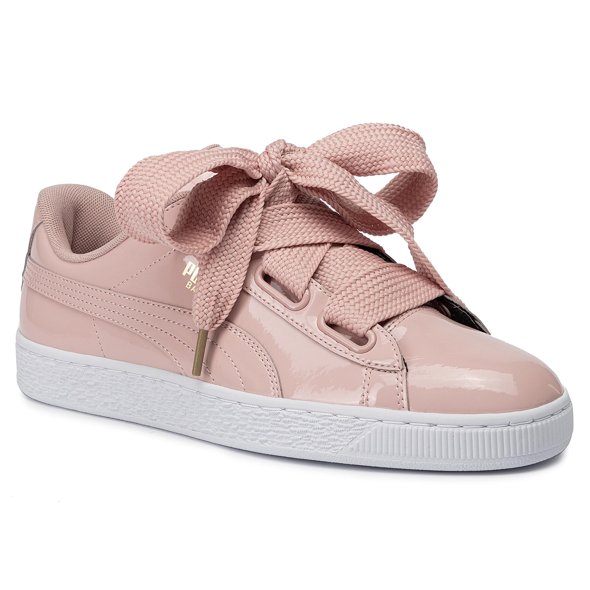 Sneakers Puma - Basket Heart Patent Wn's 363073 11 Peach Beige/Peach Beige imagine epantofi.ro